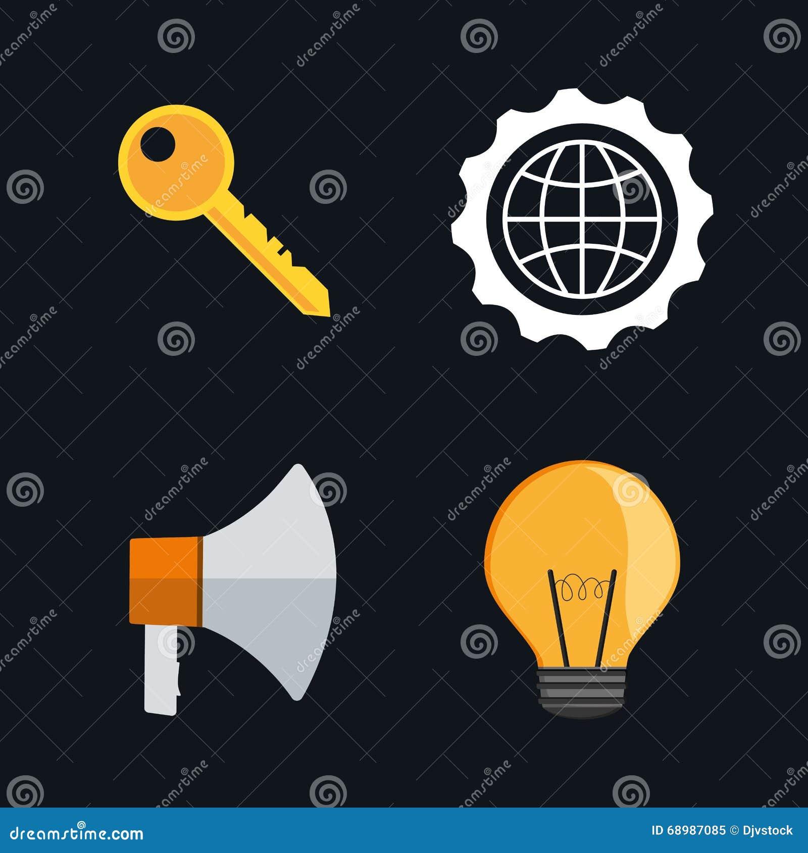 Diseño determinado del icono