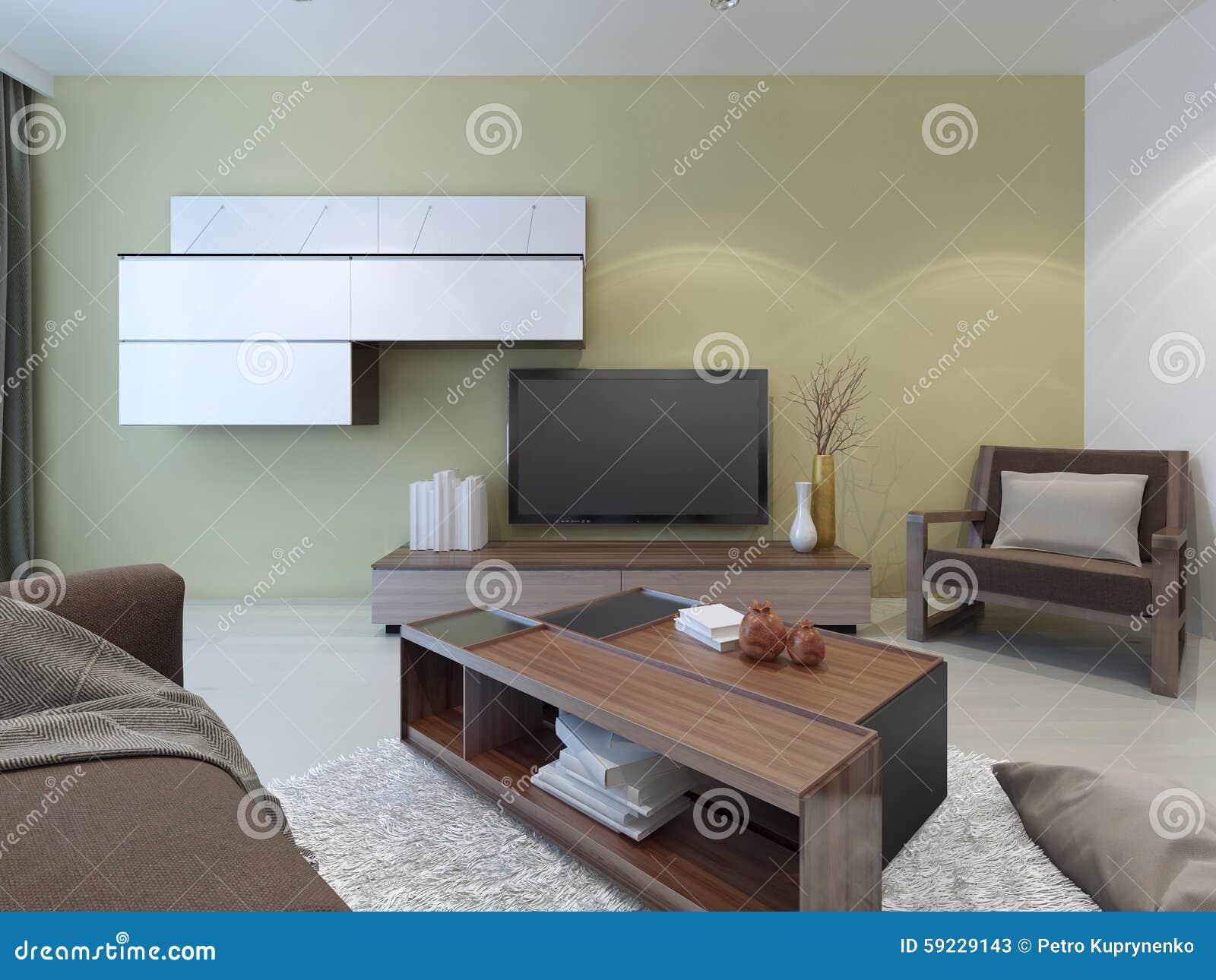 Diseño espacioso del sitio del salón