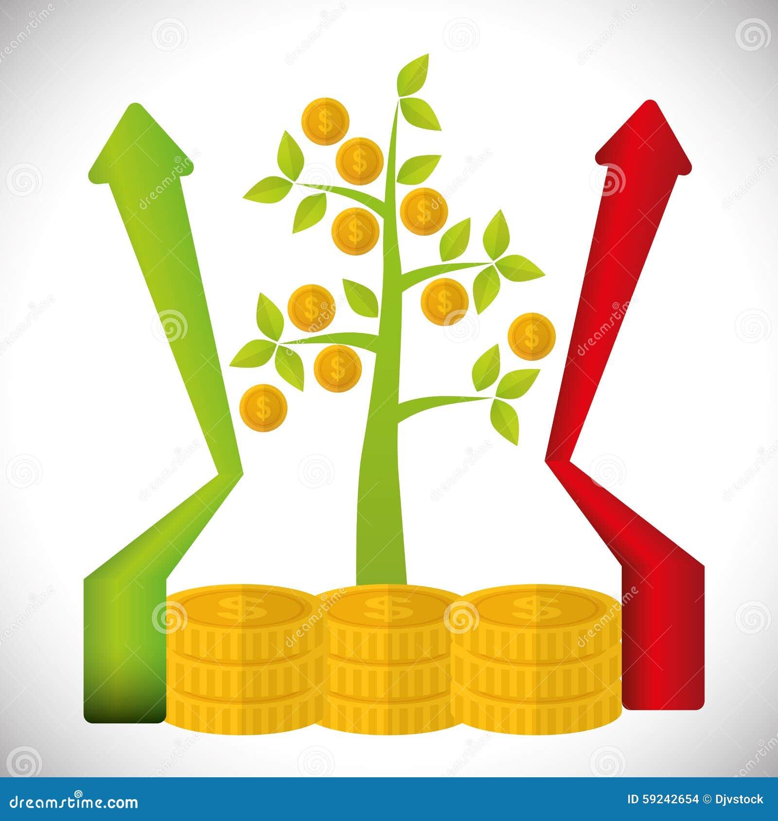 Download Diseño Financiero Del Crecimiento Ilustración del Vector - Ilustración de banking, extracto: 59242654