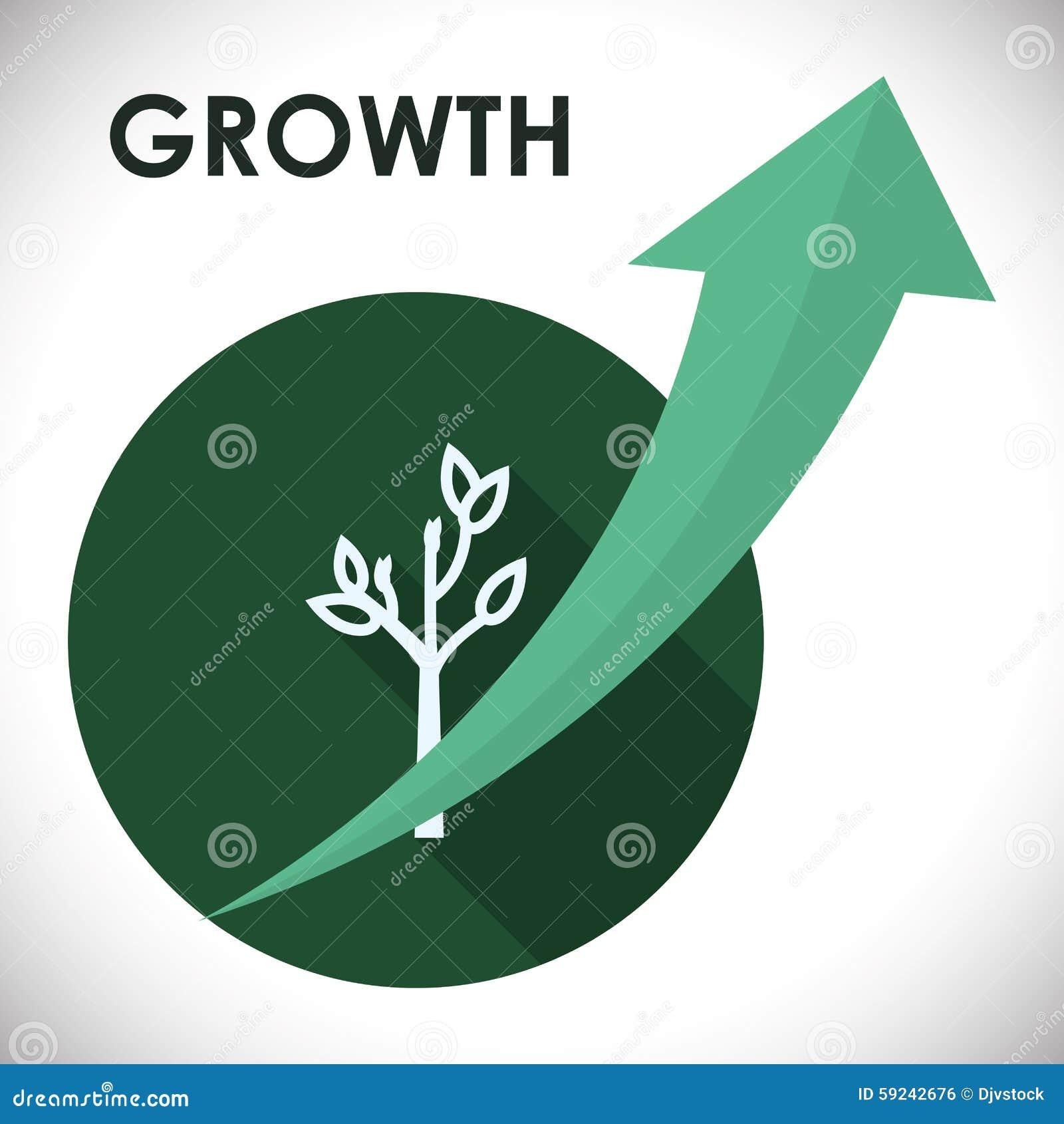 Download Diseño Financiero Del Crecimiento Ilustración del Vector - Ilustración de proyecto, exactitud: 59242676