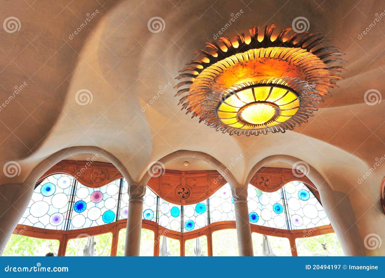 Dise o futurista de interior de casas batllo - Arquitecto espanol famoso ...