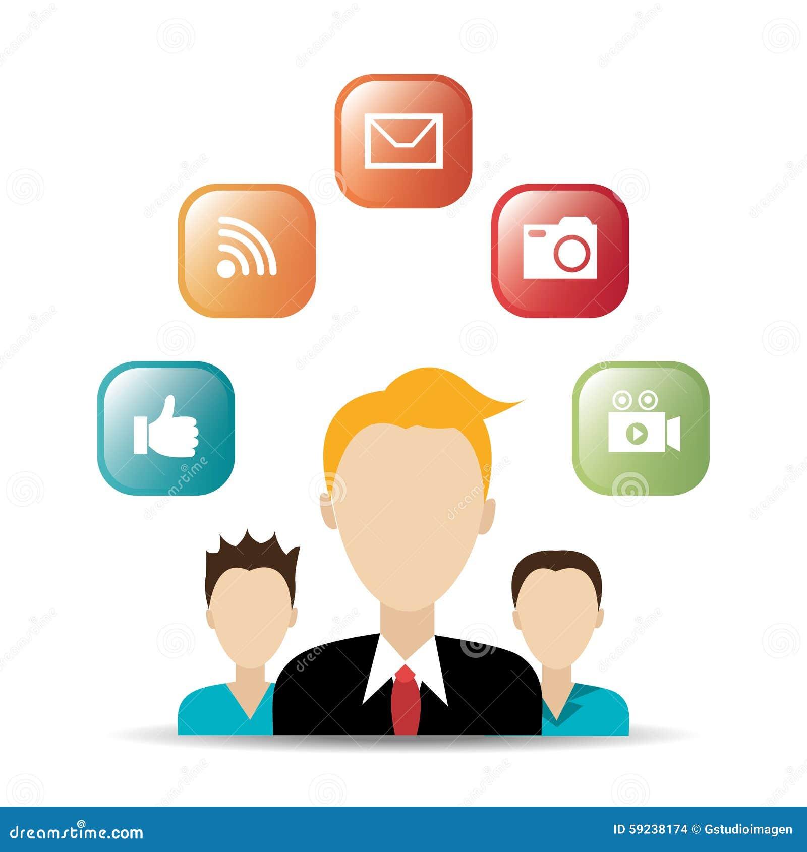 Download Diseño Gráfico Del Medios Entretenimiento Social Ilustración del Vector - Ilustración de como, ilustración: 59238174