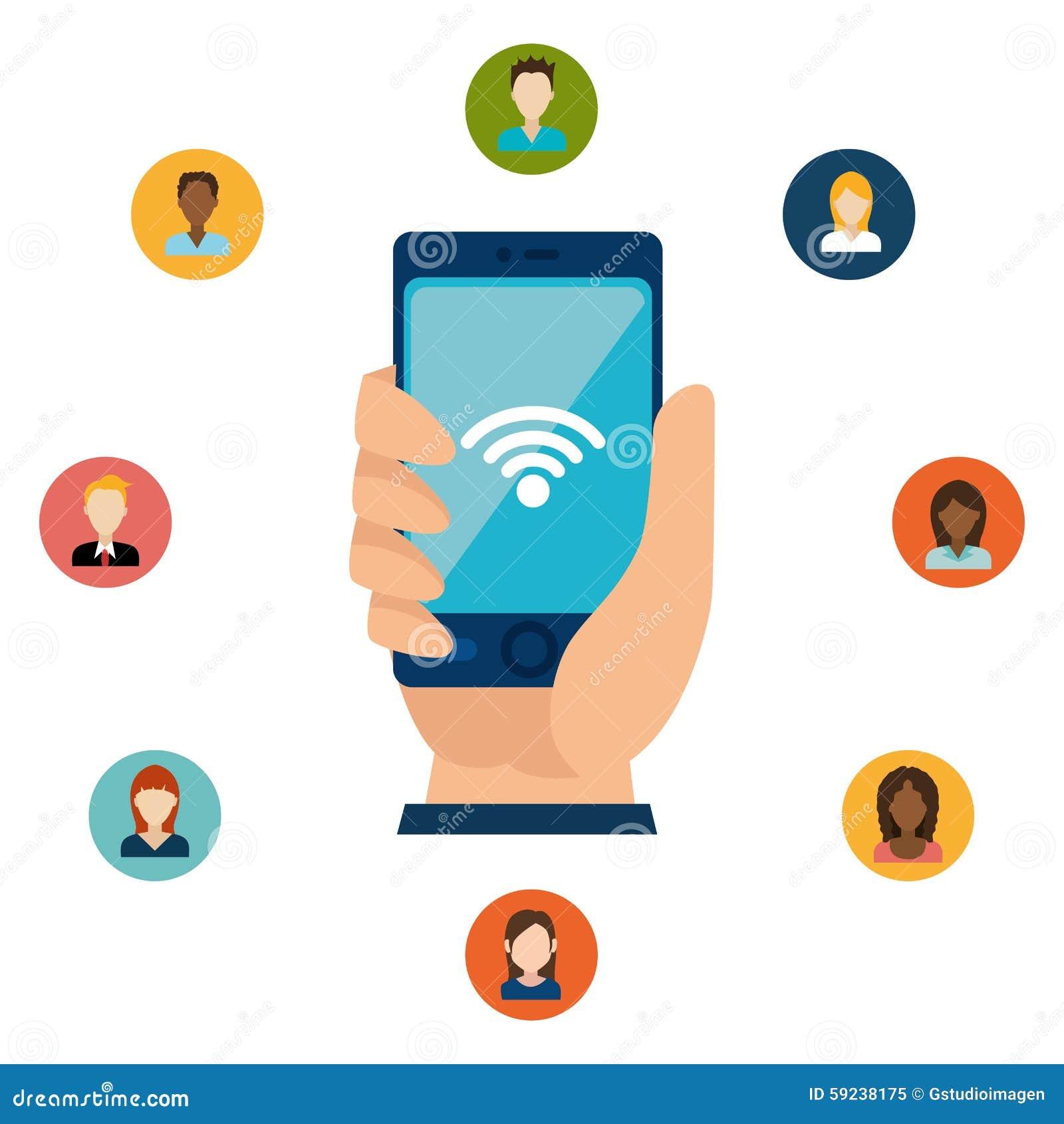 Download Diseño Gráfico Del Medios Entretenimiento Social Ilustración del Vector - Ilustración de hospitalidad, conexión: 59238175