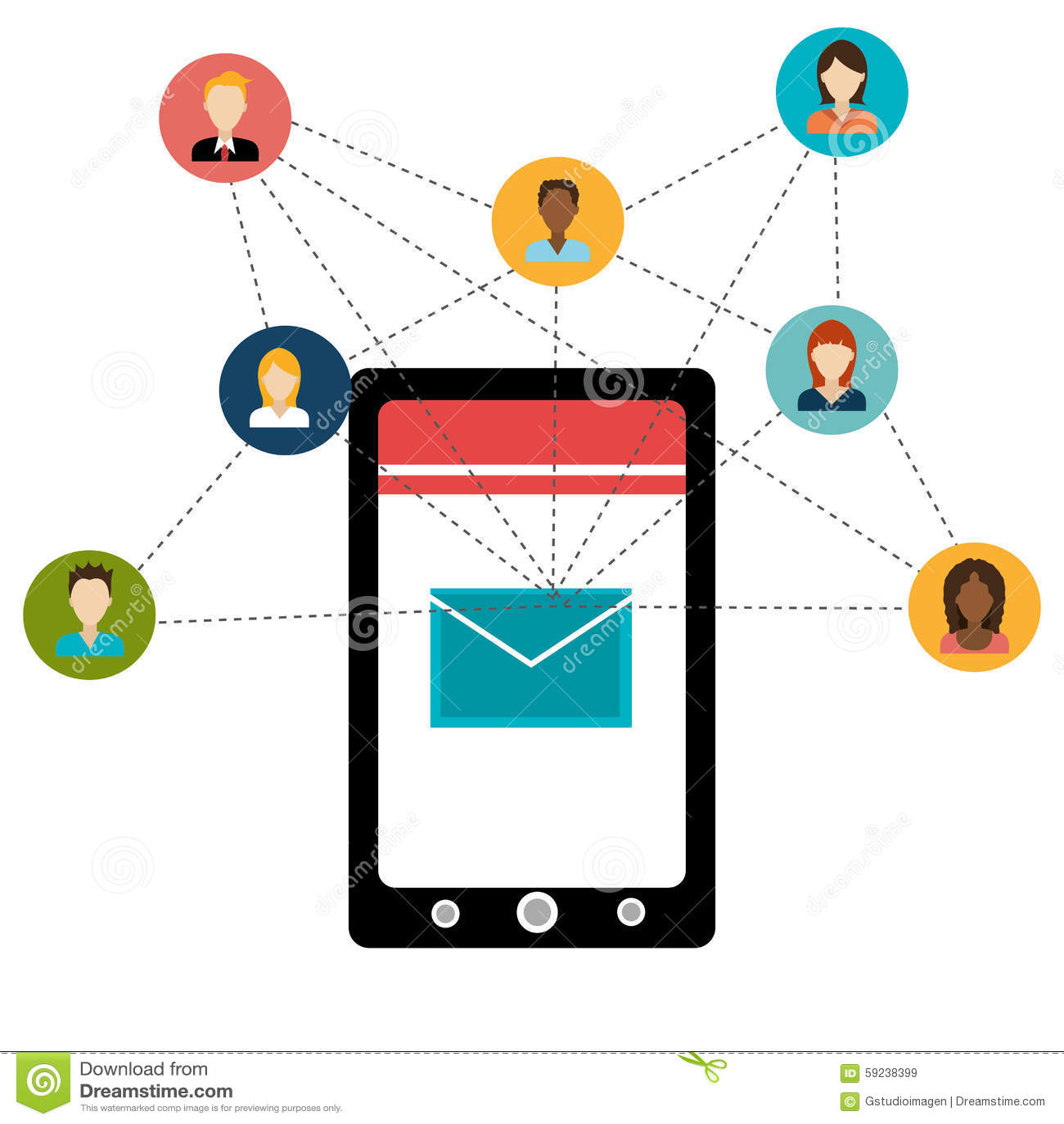 Download Diseño Gráfico Del Medios Entretenimiento Social Ilustración del Vector - Ilustración de digital, iconos: 59238399
