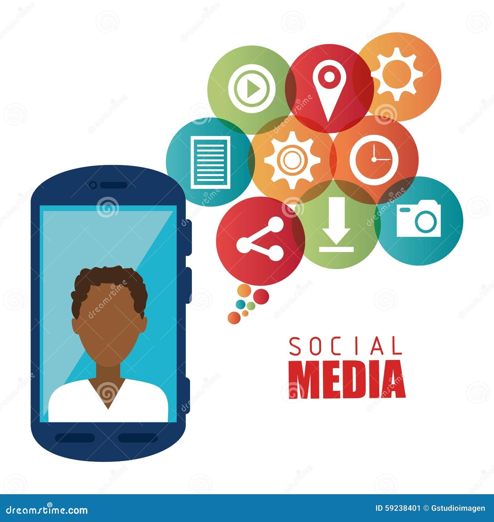 Download Diseño Gráfico Del Medios Entretenimiento Social Ilustración del Vector - Ilustración de innovación, sharing: 59238401