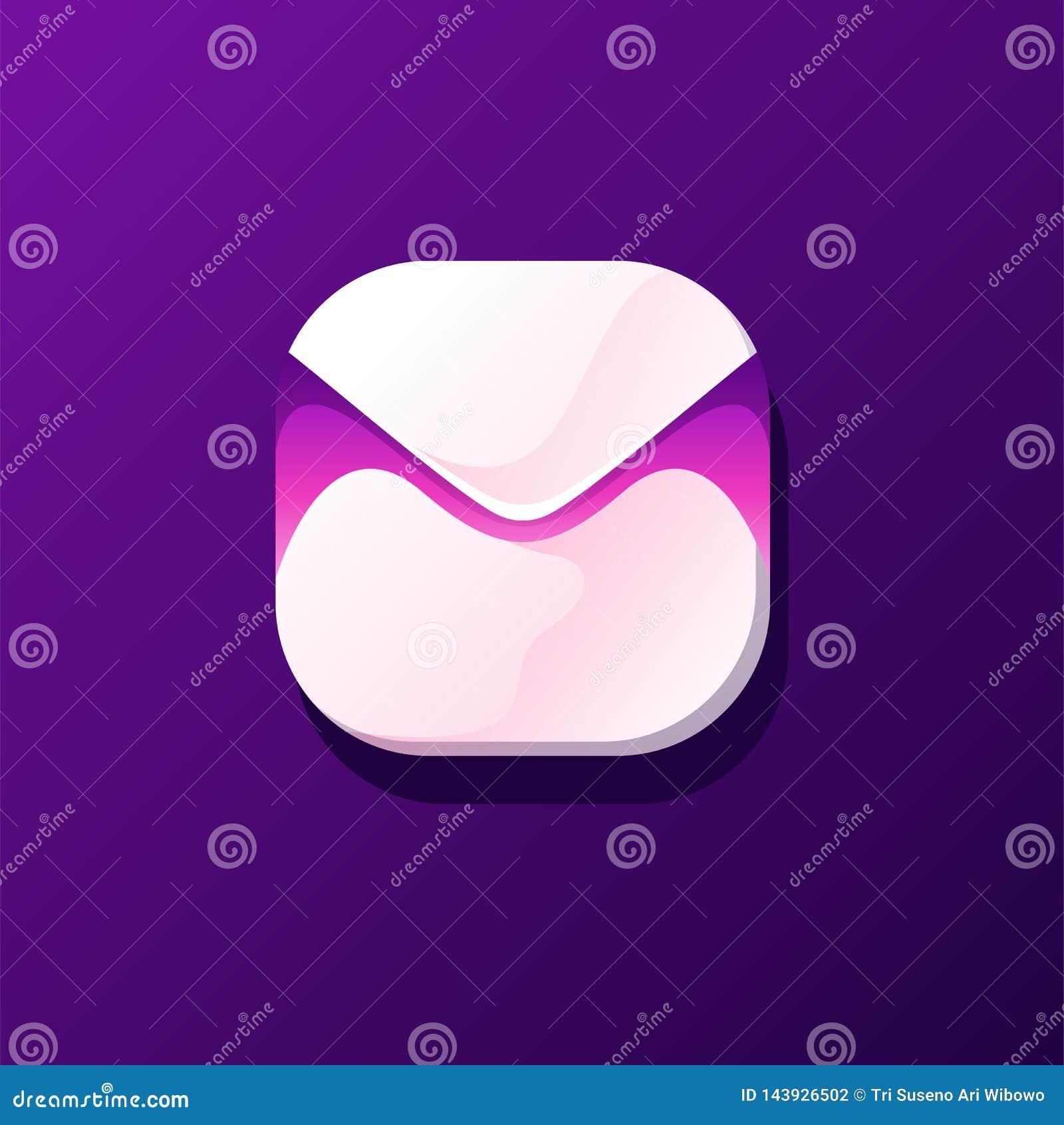 Diseño impresionante del icono del correo listo para utilizar