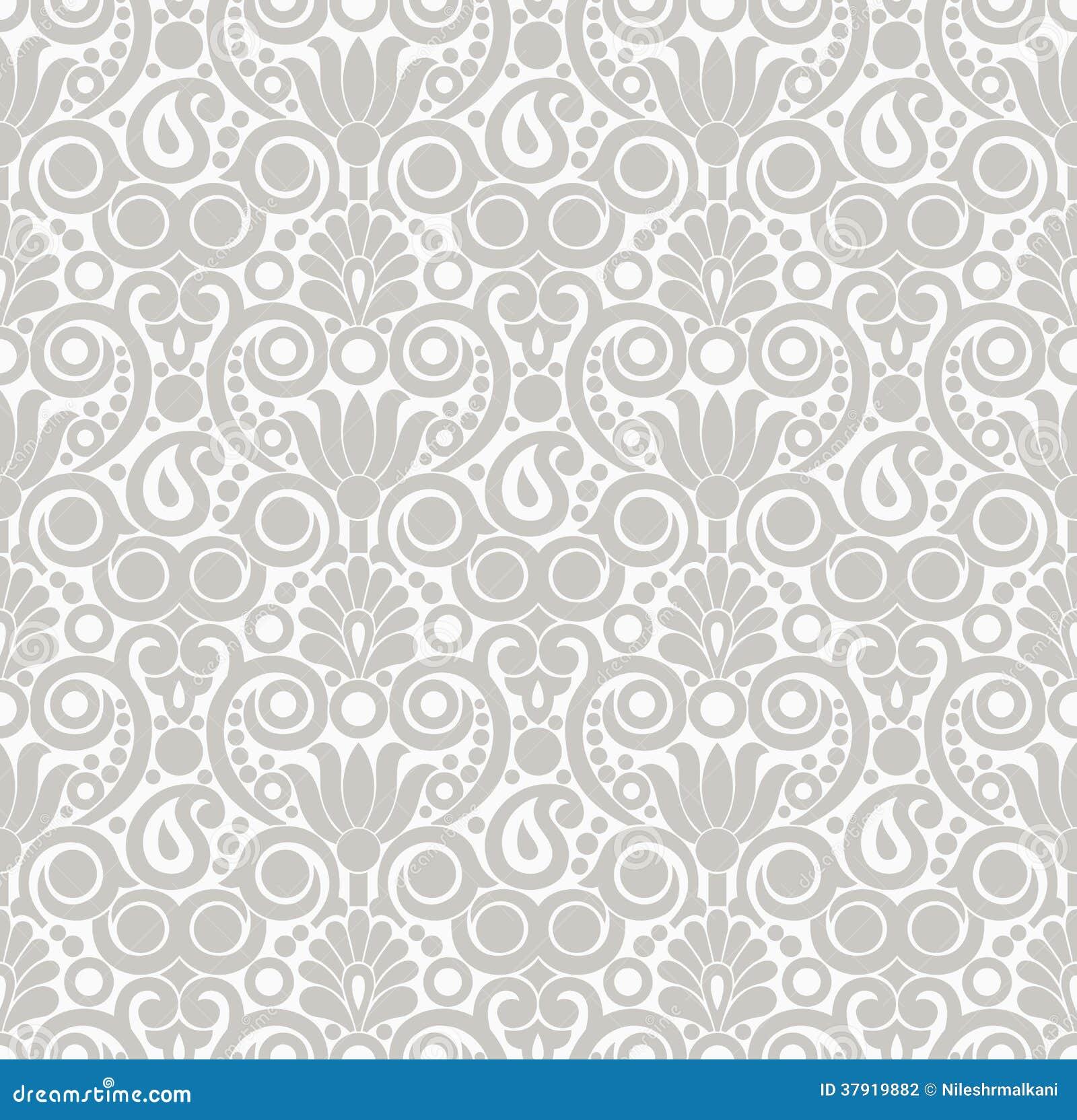 Dise o incons til del papel pintado del damasco fotograf a - Papel pintado damasco ...