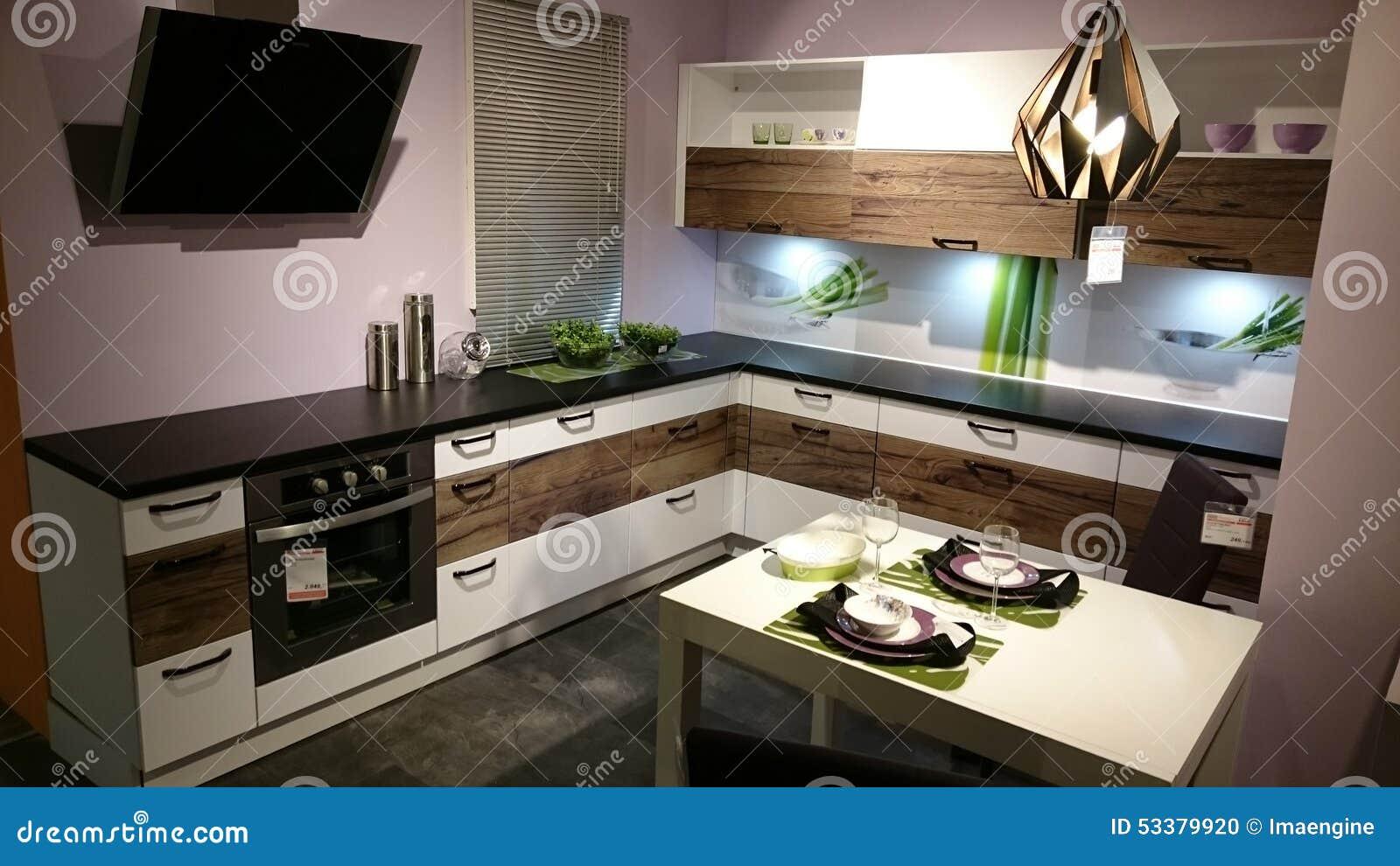 Diseño Interior Casero: Muebles Modernos De La Cocina Imagen ...