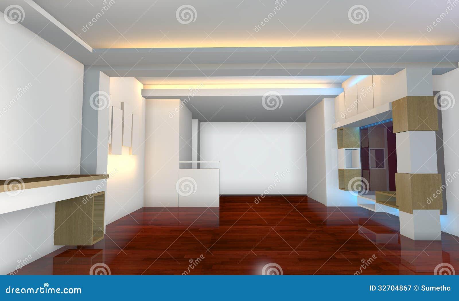 Dise o interior con el piso de madera imagen de archivo imagen de entarimado living 32704867 Disenos de pisos para interiores