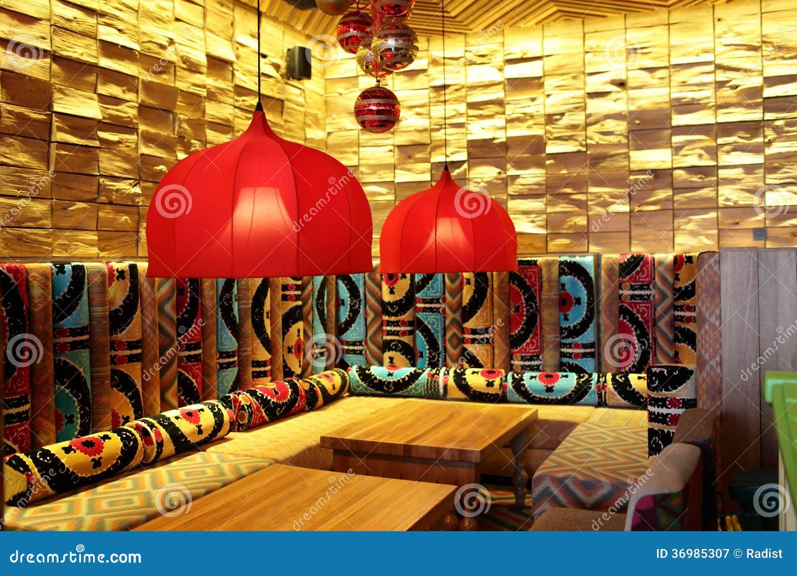 Dise O Interior De Restaurante Fotograf A De Archivo Libre