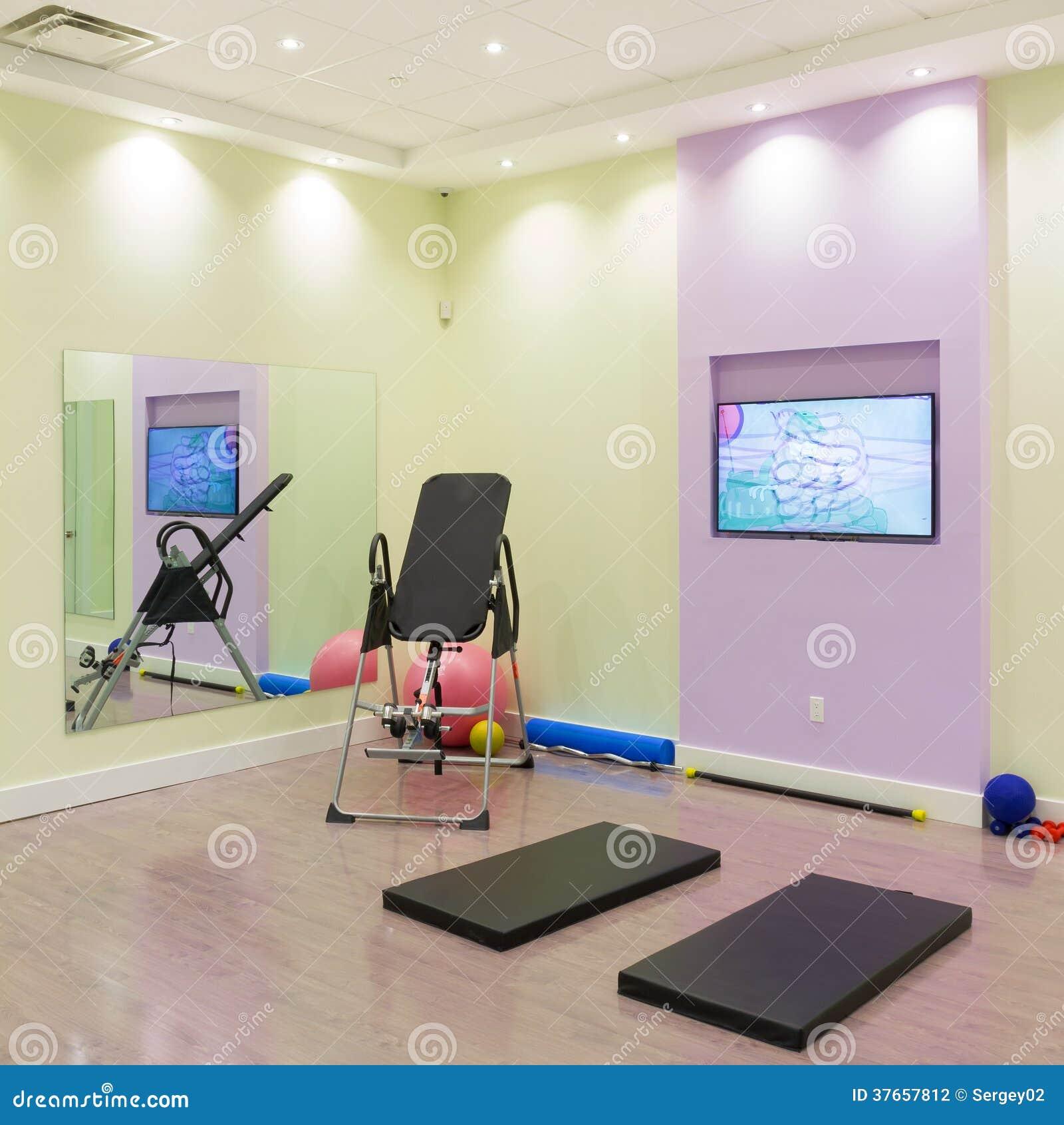 interior with diseos de gimnasios
