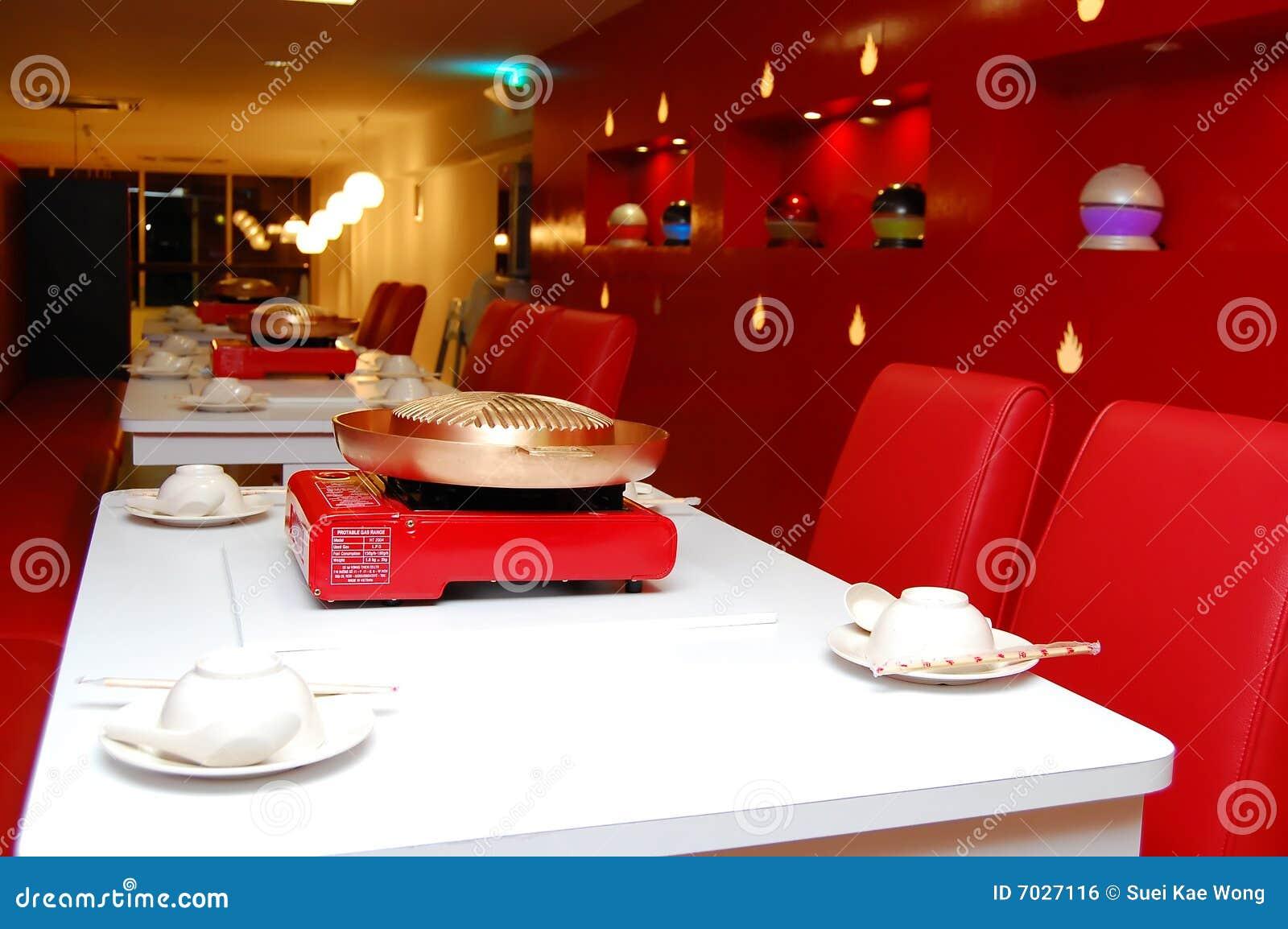 Dise O Interior Del Restaurante