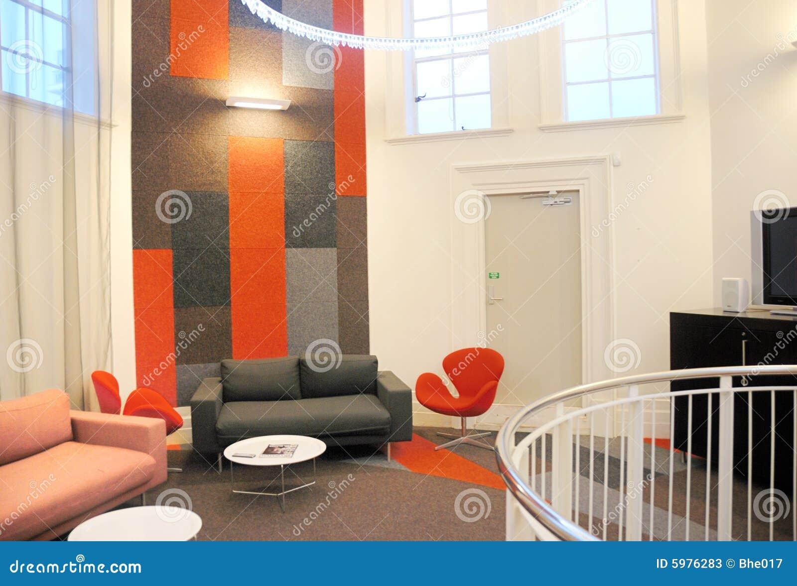 Dise o interior en oficina imagen de archivo imagen de for Diseno de interiores oficinas pequenas