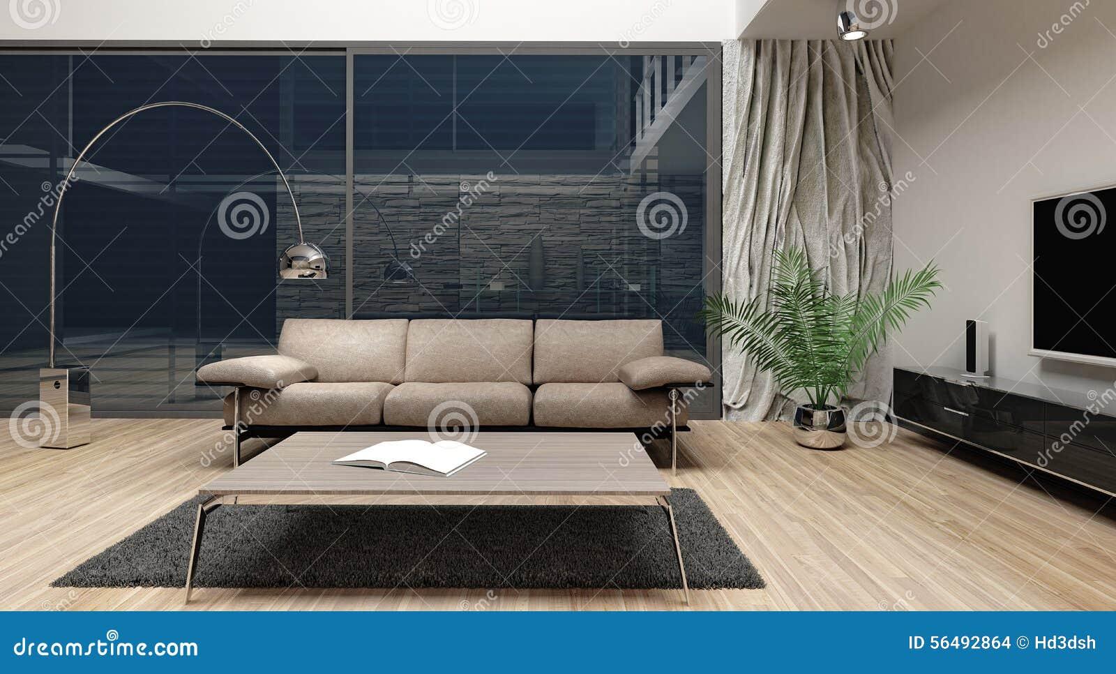 Diseño interior minimalista moderno