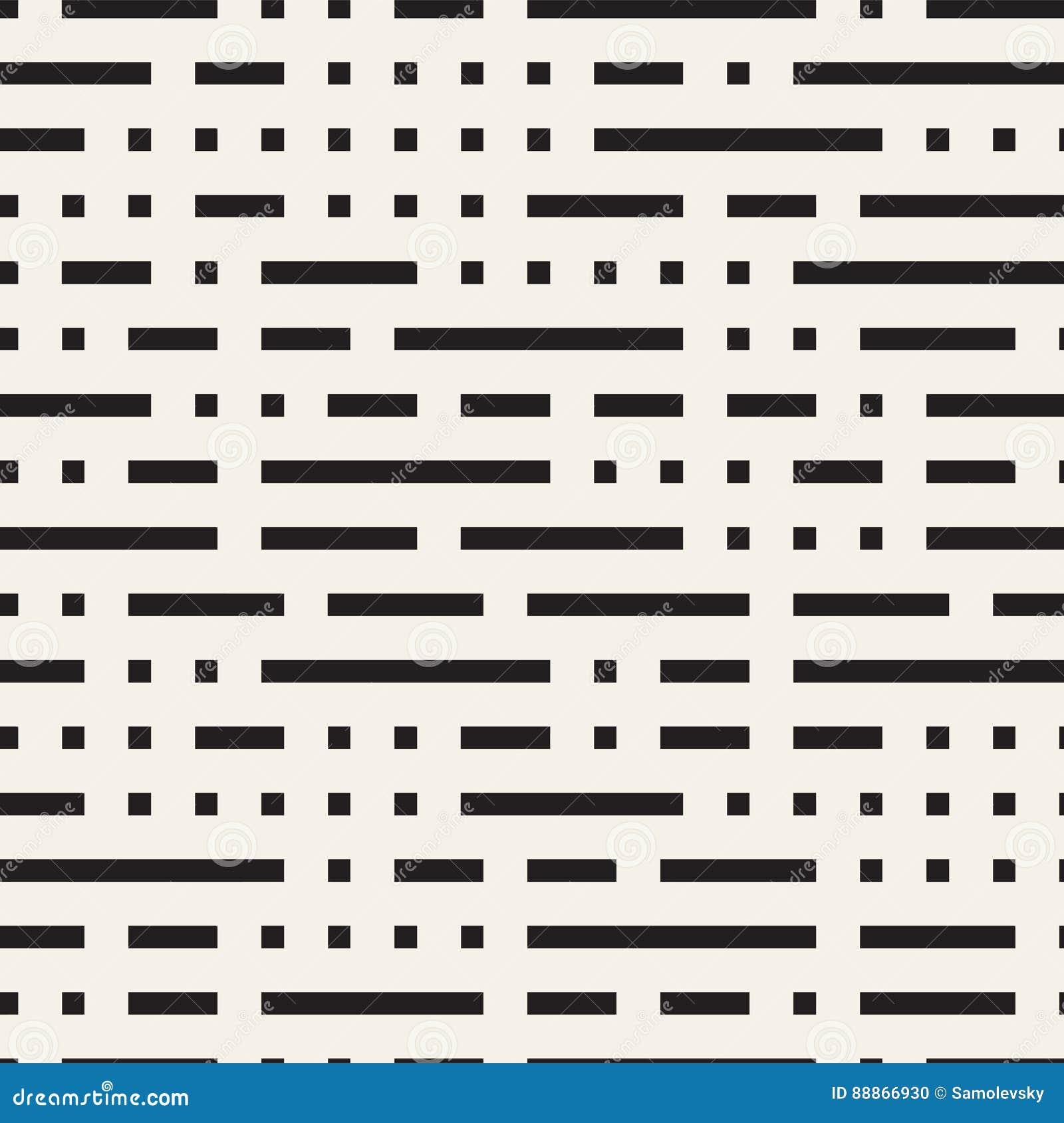 Diseño irregular de Maze Shapes Tiling Contemporary Graphic Modelo blanco y negro inconsútil del vector