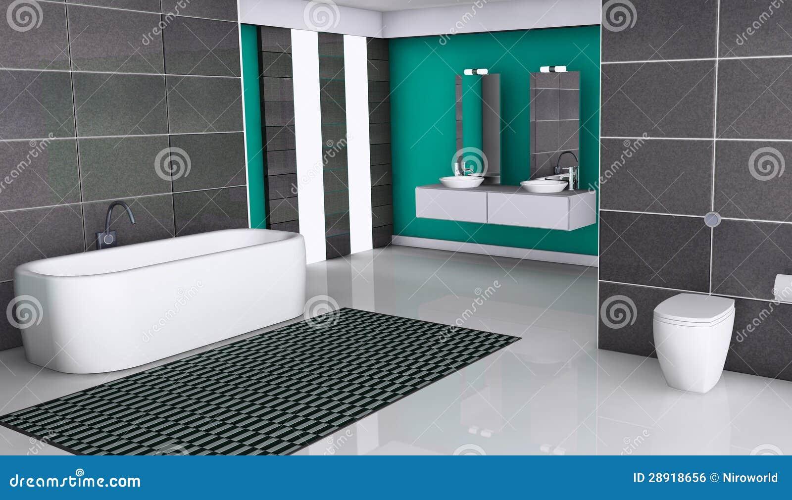 Diseno De Baños Con Granito: de archivo libre de regalías: Diseño moderno del cuarto de baño