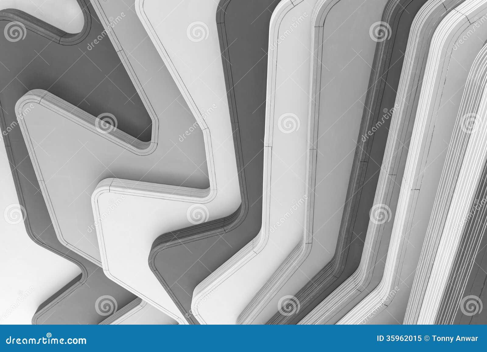 Diseño moderno del techo