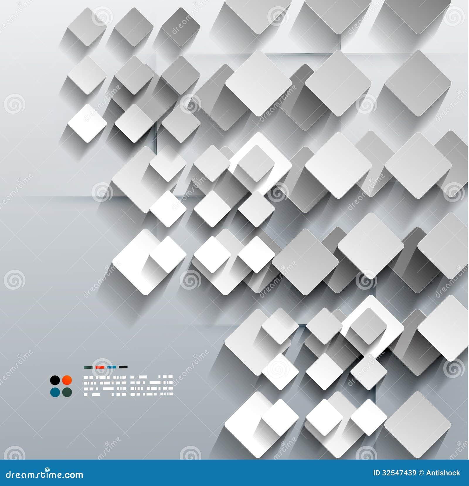 Dise o moderno del vector del rombo del papel 3d - Papel pintado de diseno moderno ...