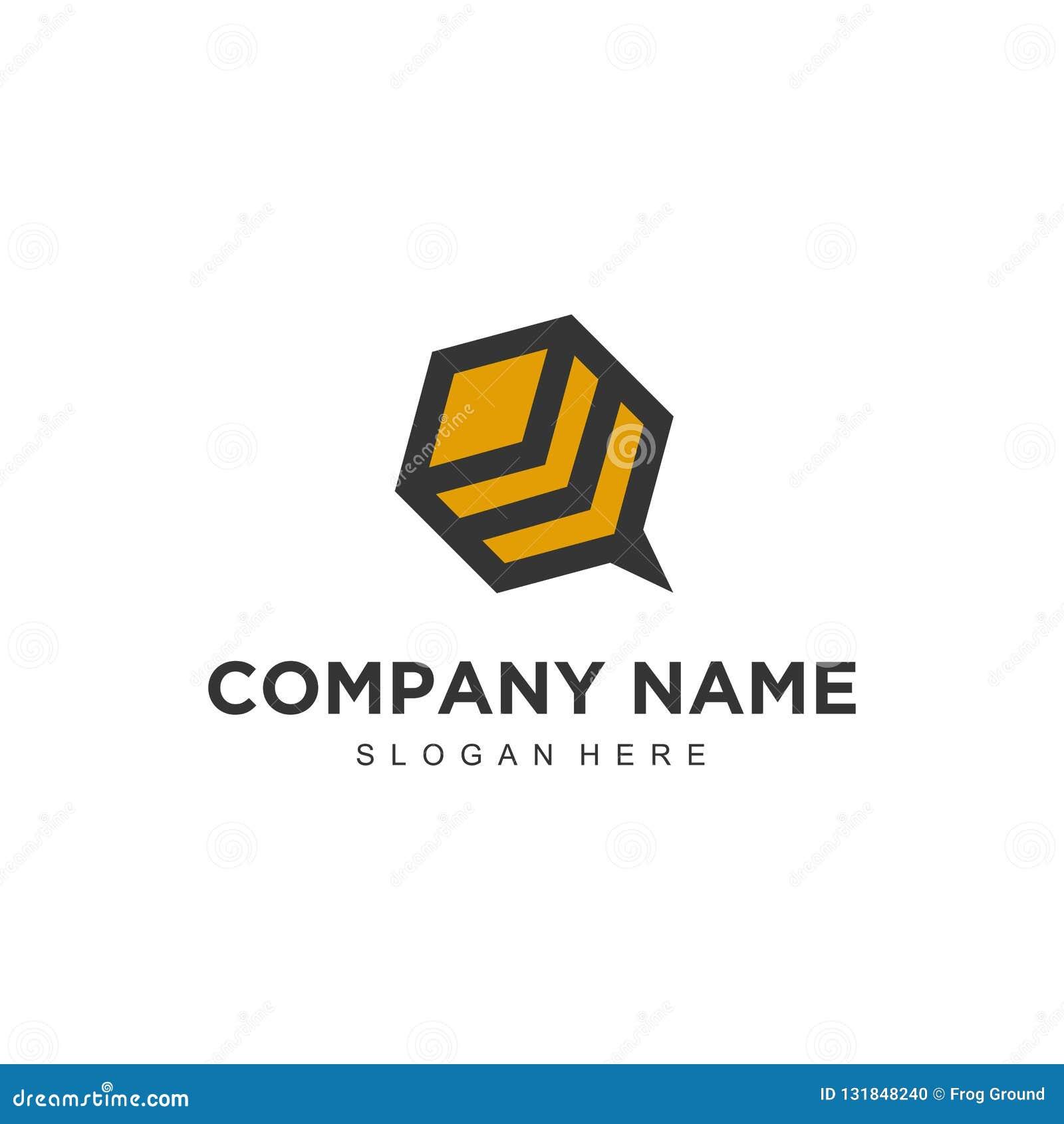 Diseño profesional moderno minimalistic simple del logotipo de plantilla del ilustrador del vector EPS de la abeja