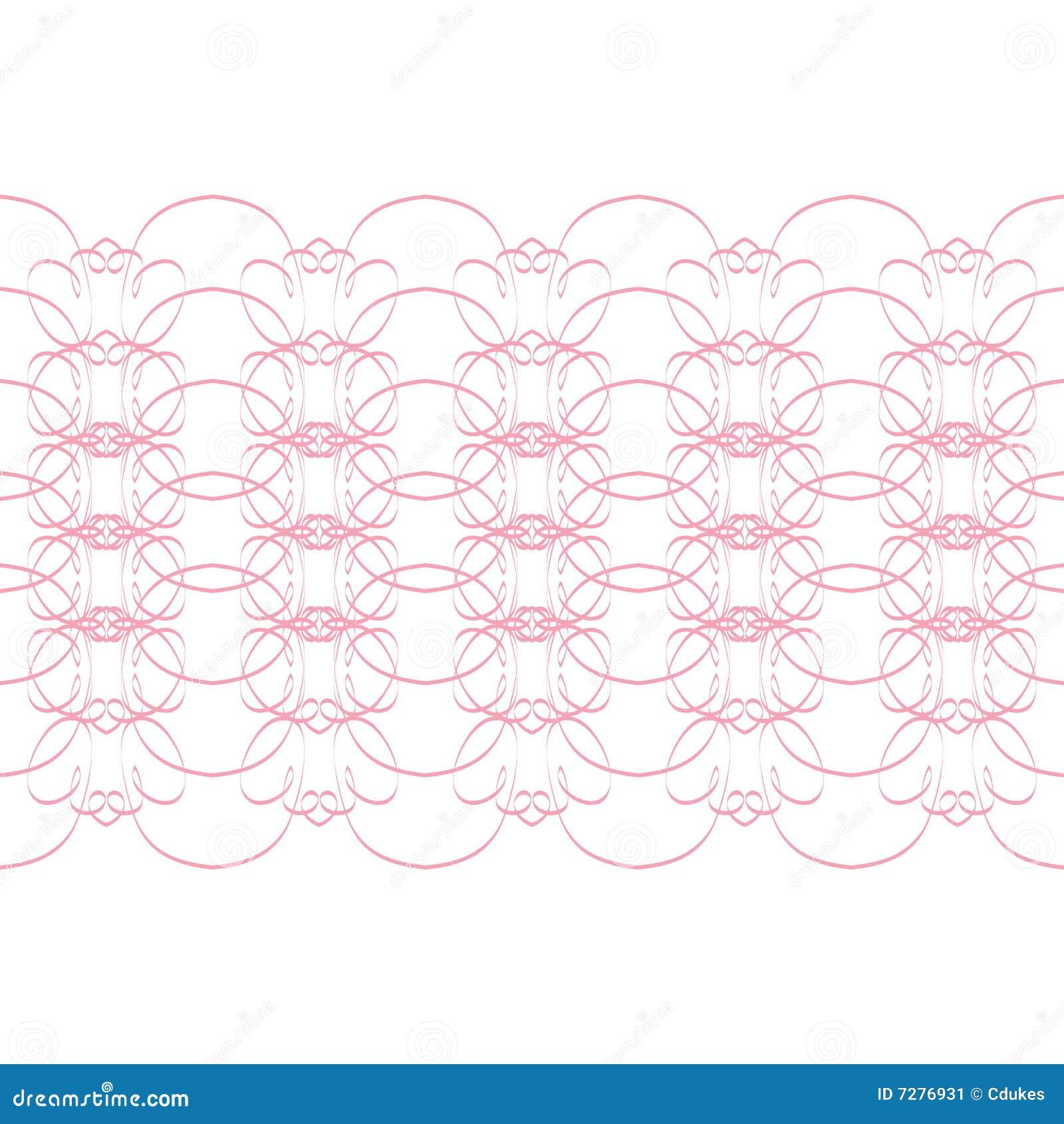 Diseño rosado del cordón