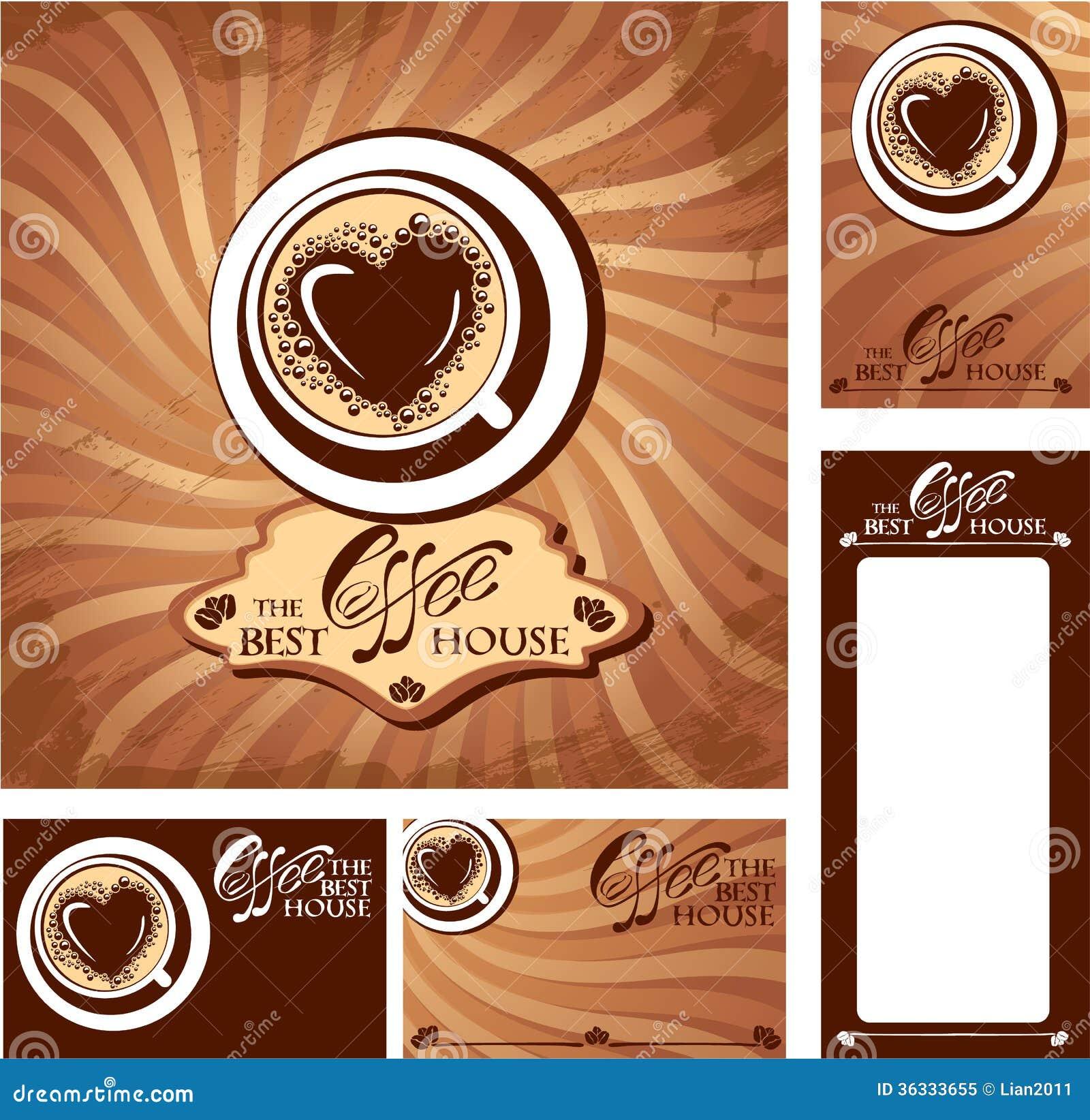 Dise os de la plantilla de tarjetas del men y de visita for Disenos de menus para cafeterias