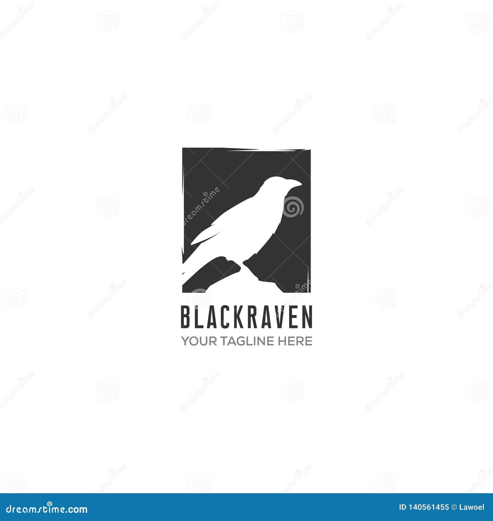Diseños del logotipo del cuervo