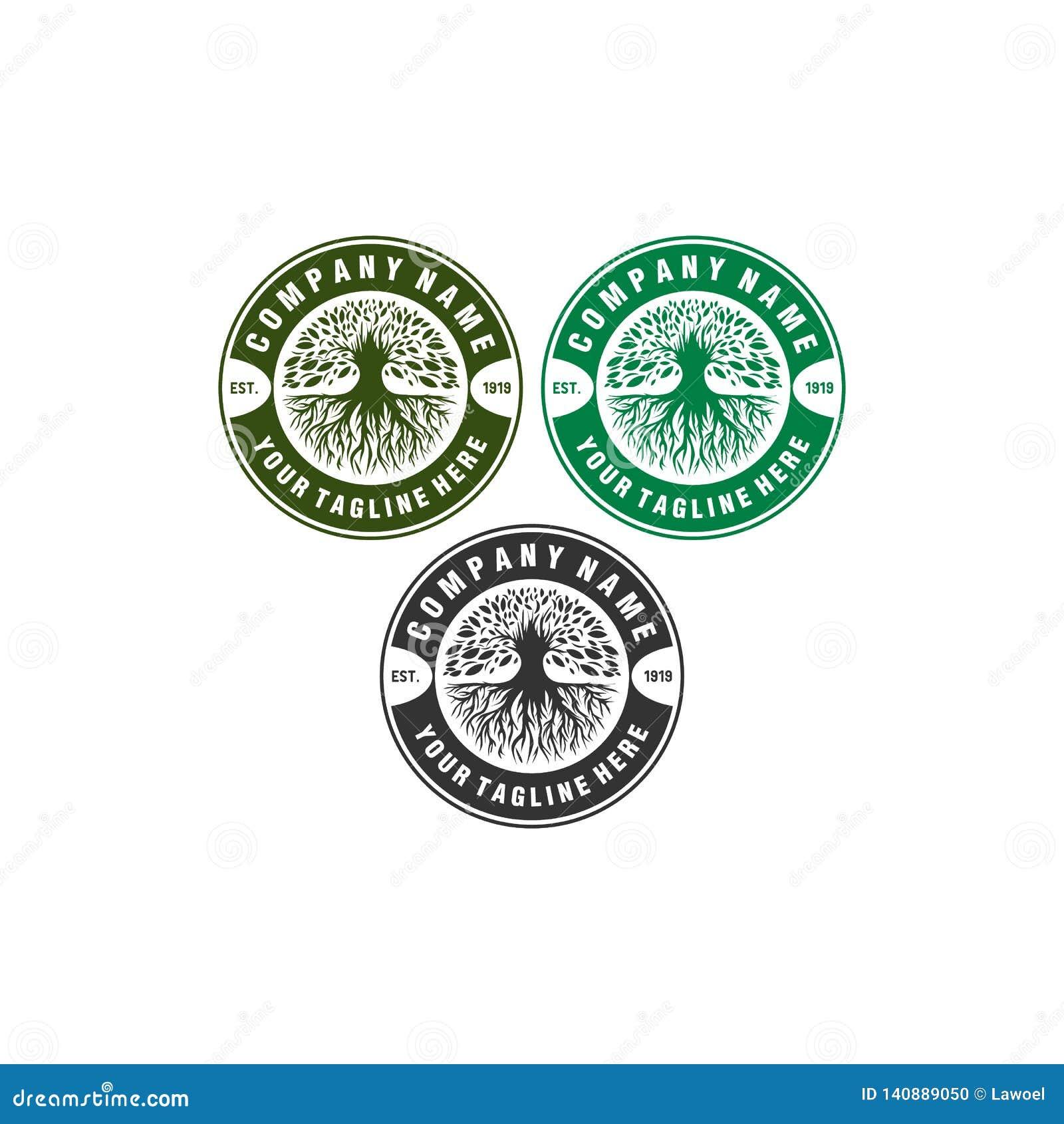 Diseños verdes del logotipo del tenis
