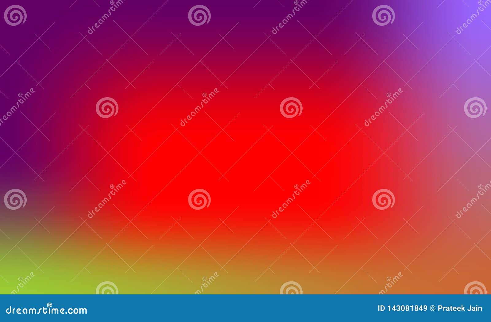 Dise?o colorido del vector del fondo de la textura de la falta de definici?n, fondo sombreado borroso colorido, ejemplo vivo del