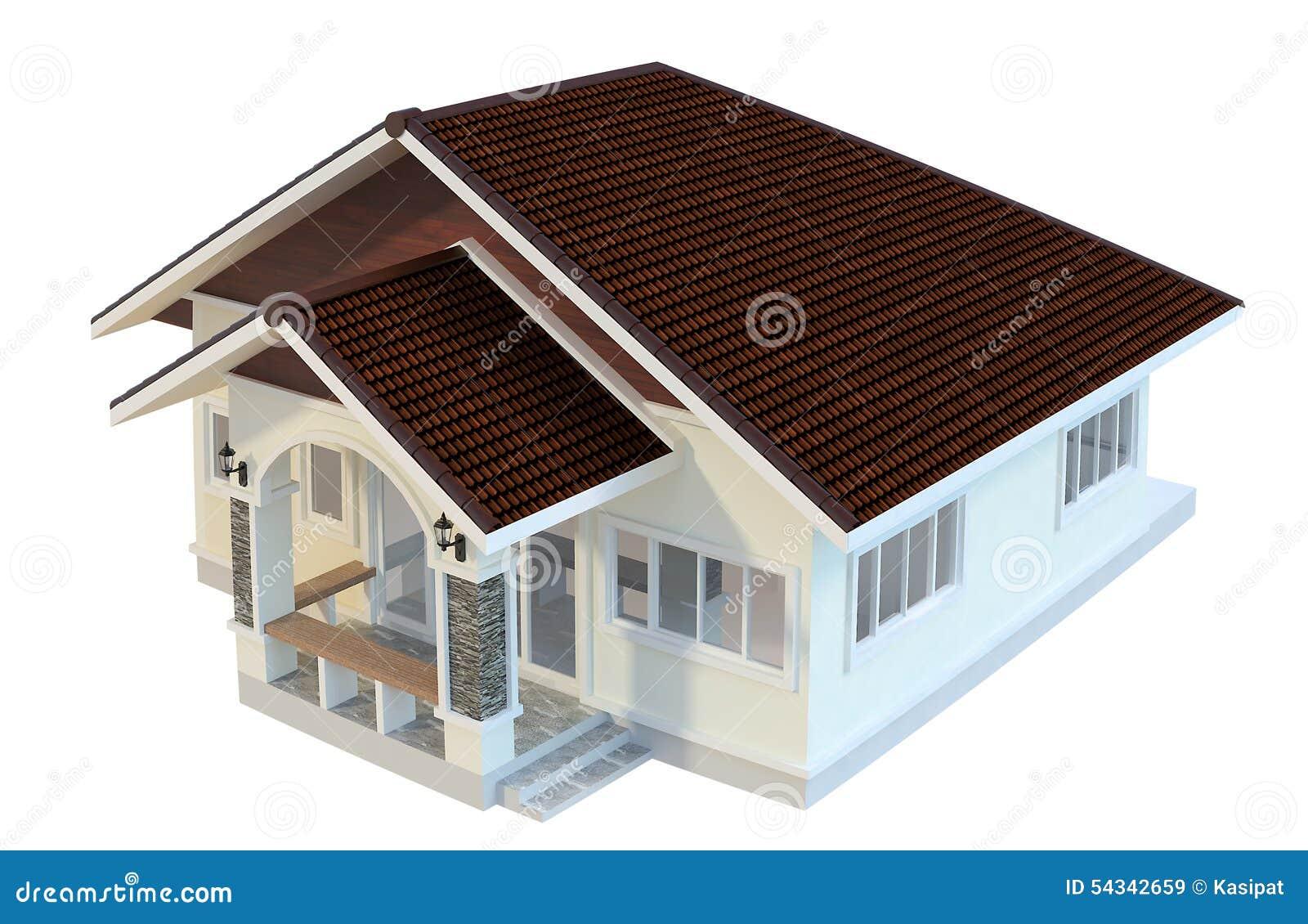 Disegni case di progettazione illustrazione di stock for Disegni di case moderne e contemporanee