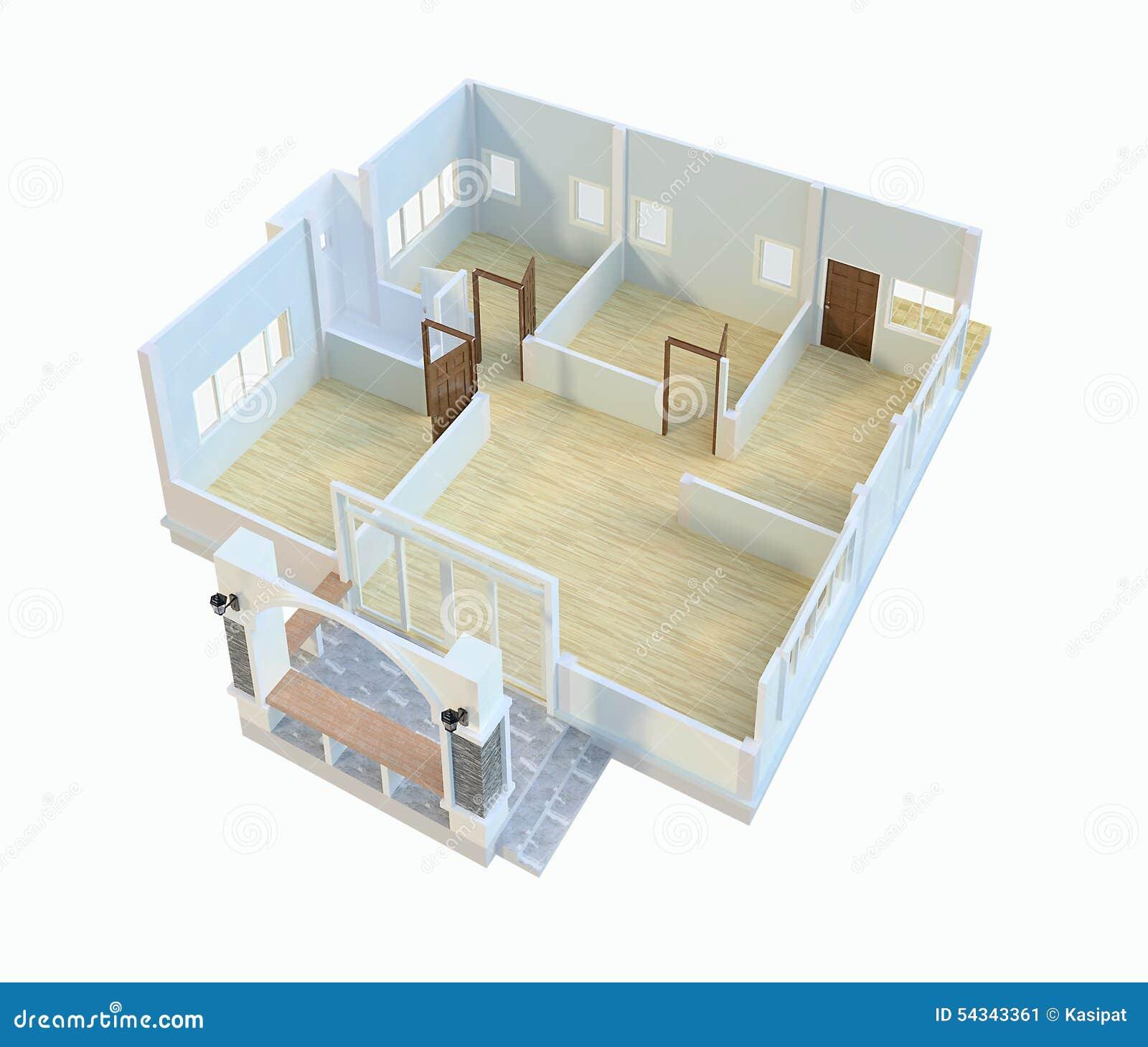 Disegni case di progettazione illustrazione di stock for Progettazione di case