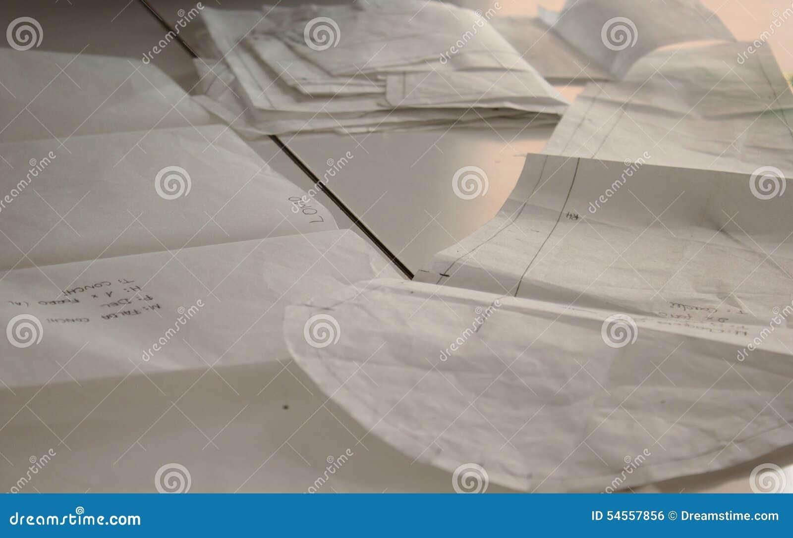 Disegni dei modelli di cucito