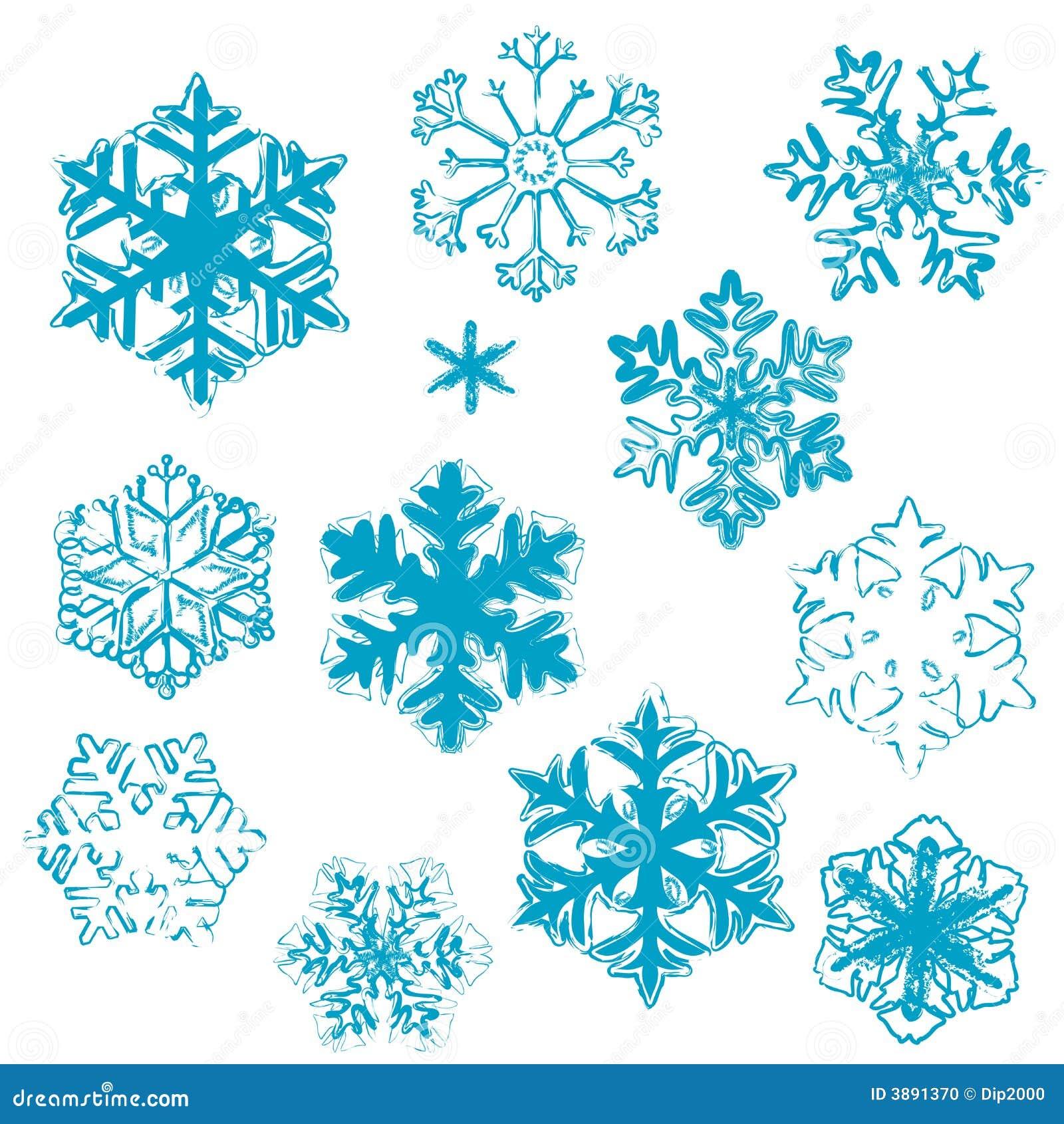 Disegni del fiocco di neve