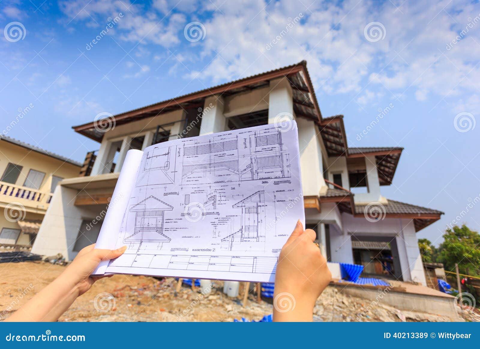 Disegni di architettura a disposizione sulla grande for Disegni di casa lastra