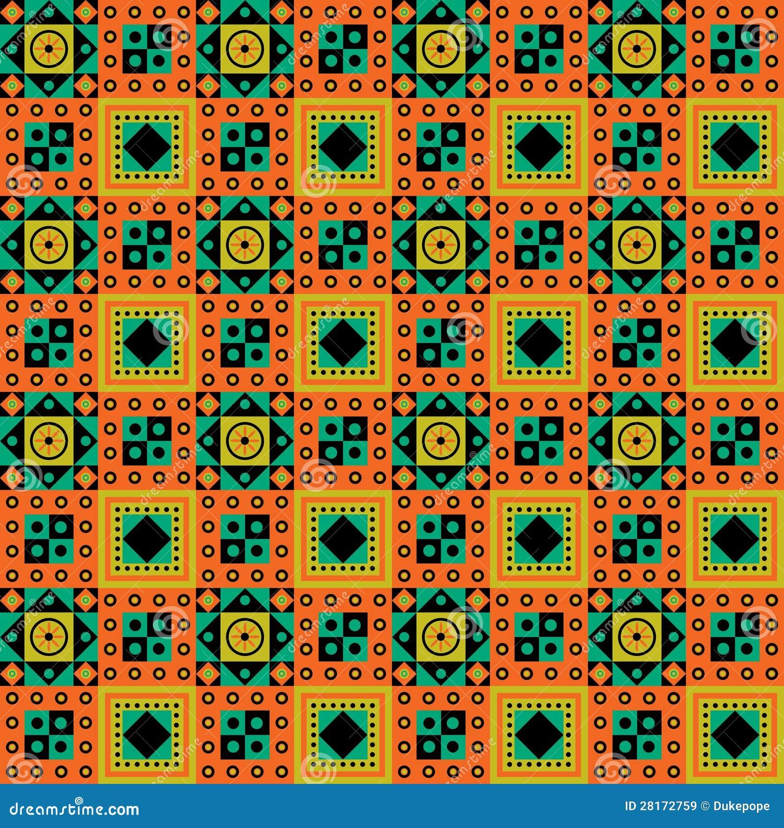 Disegno africano del reticolo
