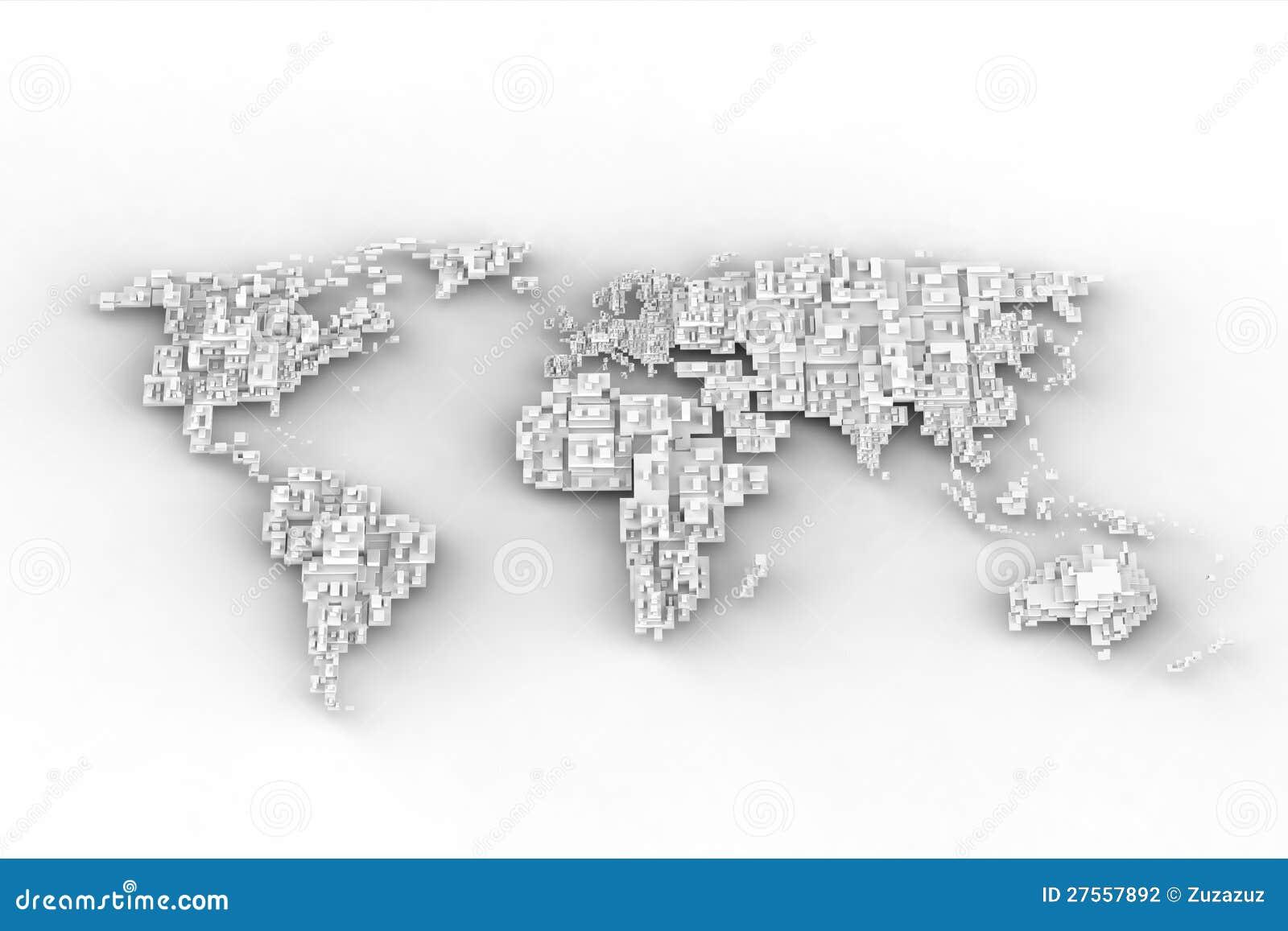 Disegno bianco del programma del mondo illustrazione di for Disegno del programma di casa