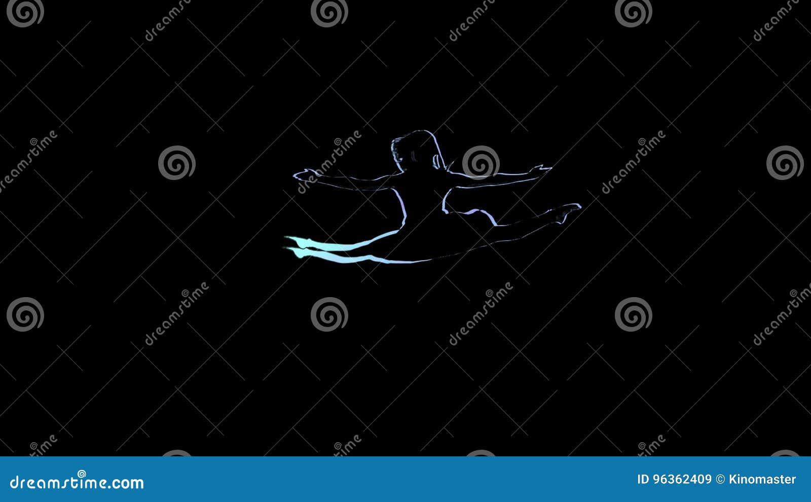 Disegno Di Una Ballerina : Booty barre muscoli affusolati e femminili da ballerina