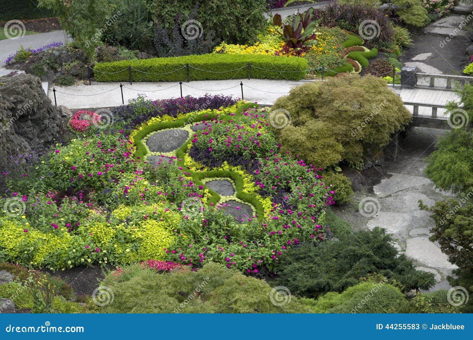 disegno del giardino fotografia stock - immagine: 44255583 - Giardino Fiorito Disegno