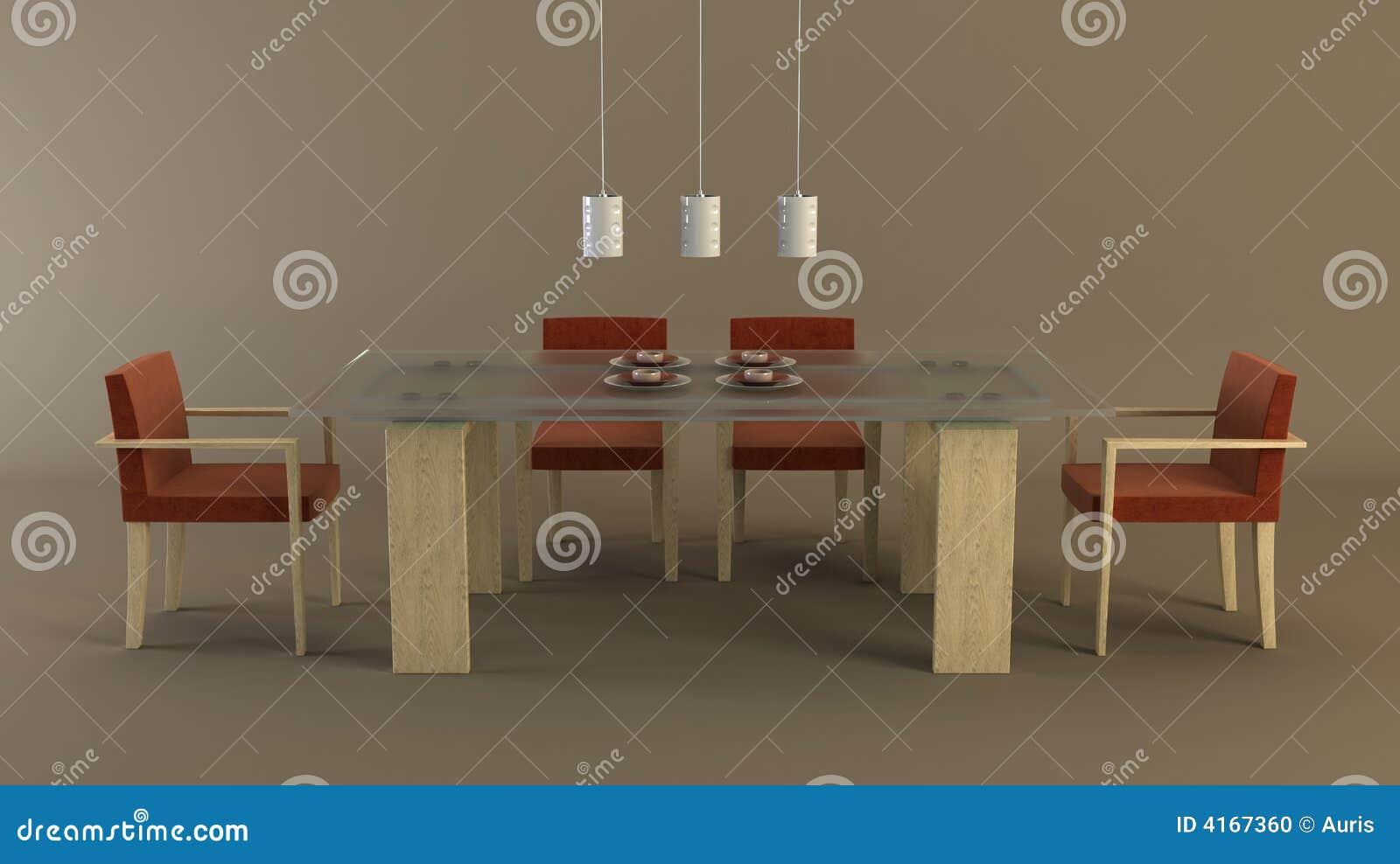 Disegno della sala da pranzo fotografia stock immagine for Pianta della sala da pranzo