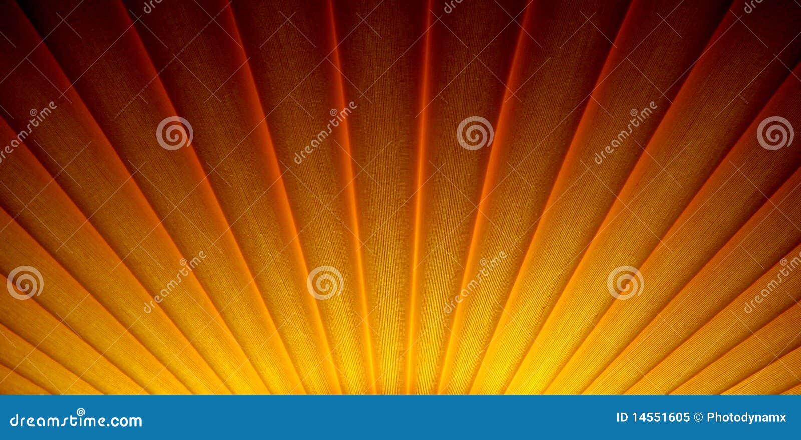 Disegno dello sprazzo di sole di alba di art deco