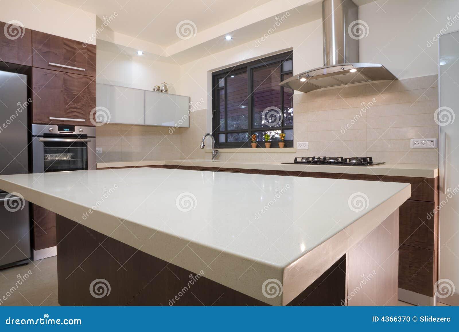 Disegno di lusso della cucina fotografia stock immagine - Disegni di cucine ...