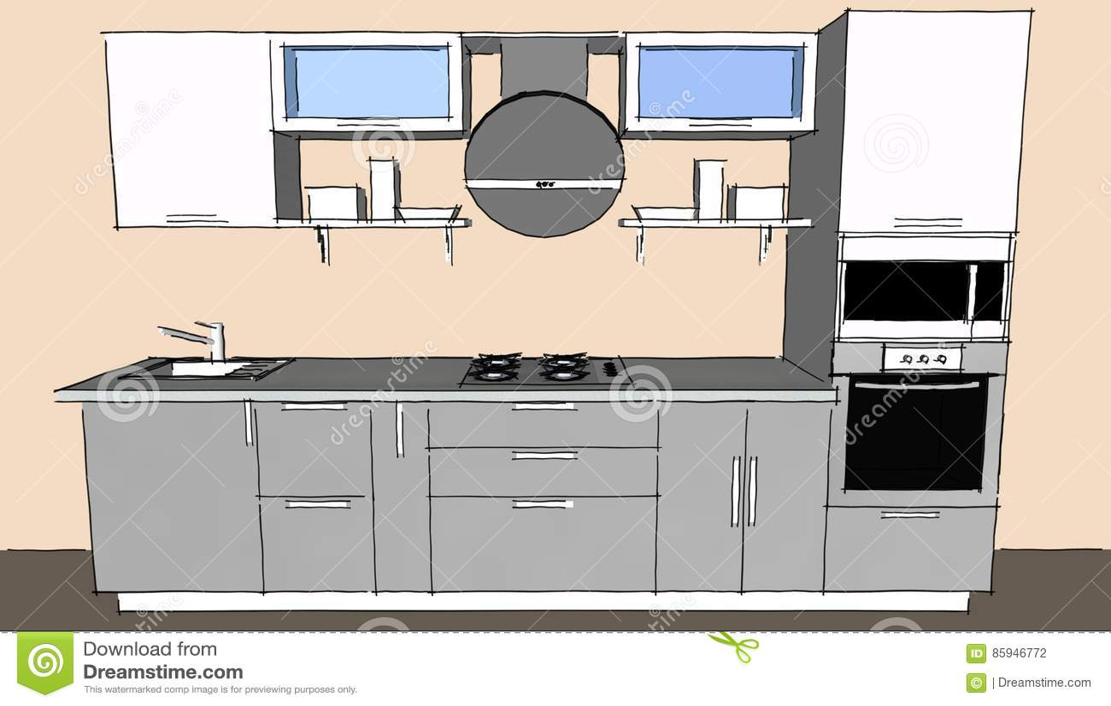 Programma per disegnare cucine good skyline sala for Programma per progettare cucine gratis