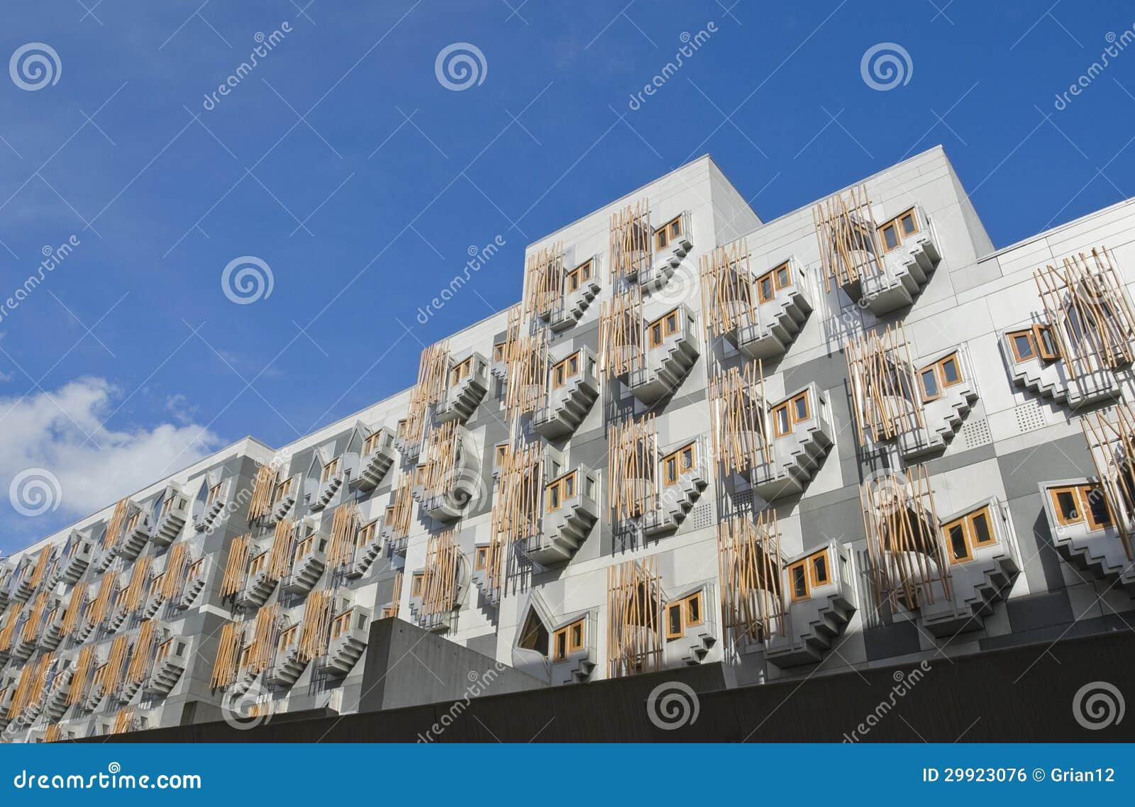Architettura moderna edimburgo fotografia stock for Disegno di architettura online