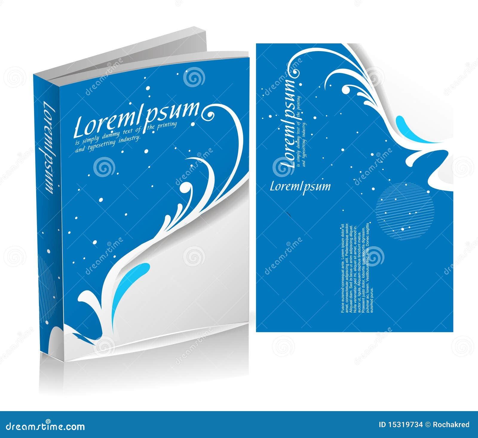 Disegno floreale della copertina di libro