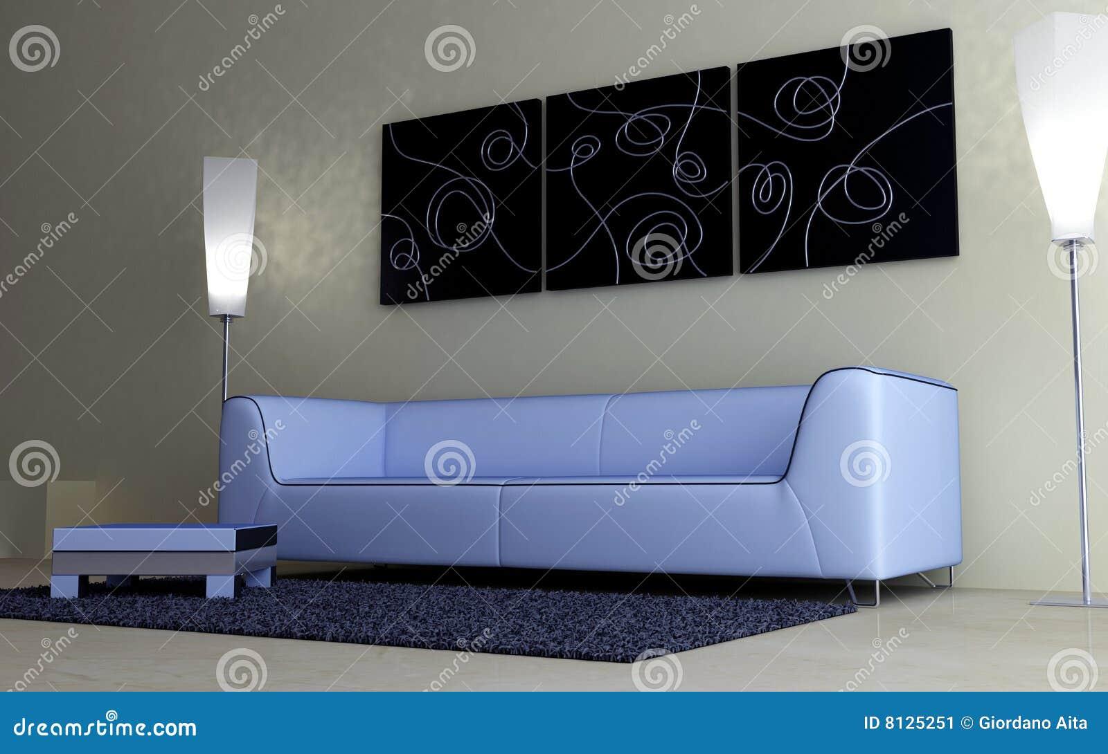Disegno interno arredamento moderno immagine stock for Arredamento stock