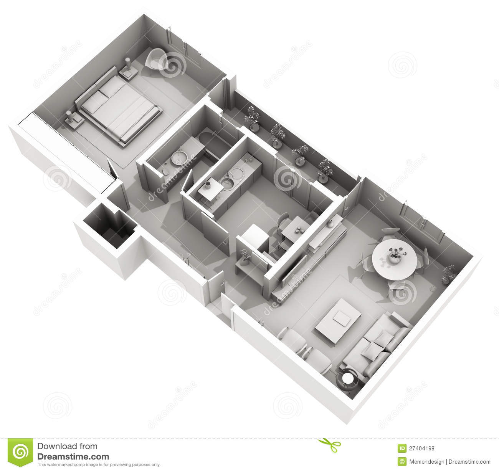 Disegno interno casa dell 39 argilla 3d appartamento for Disegno interno casa