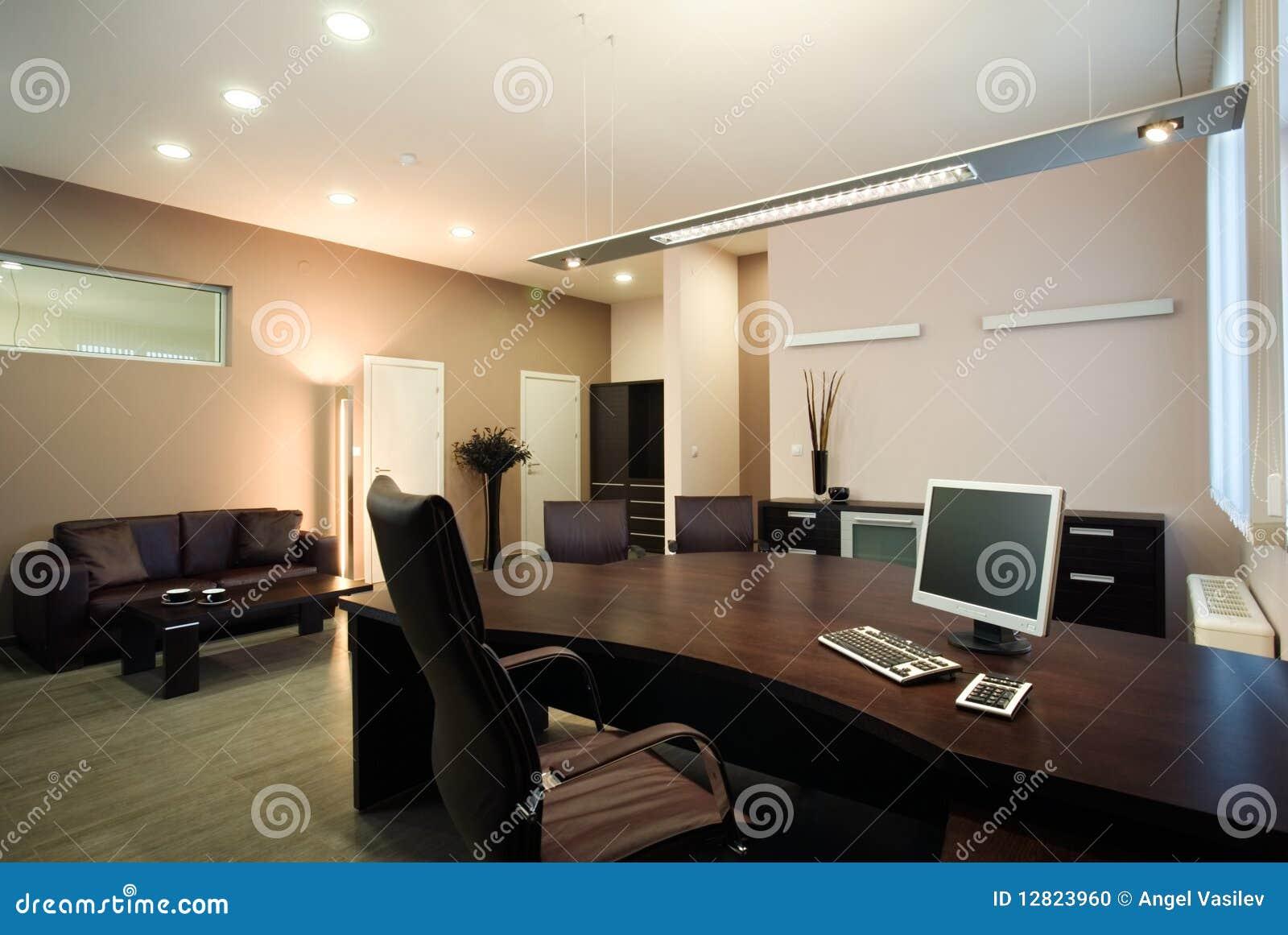 Ufficio Di Lusso : Disegno interno dell ufficio elegante e di lusso fotografia stock
