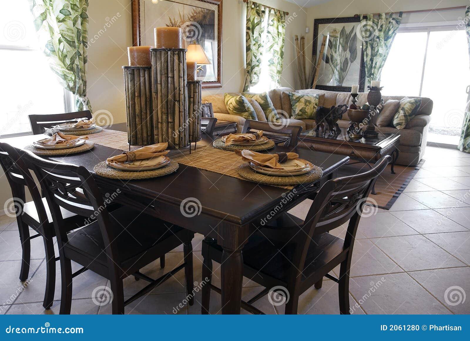Disegno interno della casa di modello fotografia stock for Interno della casa