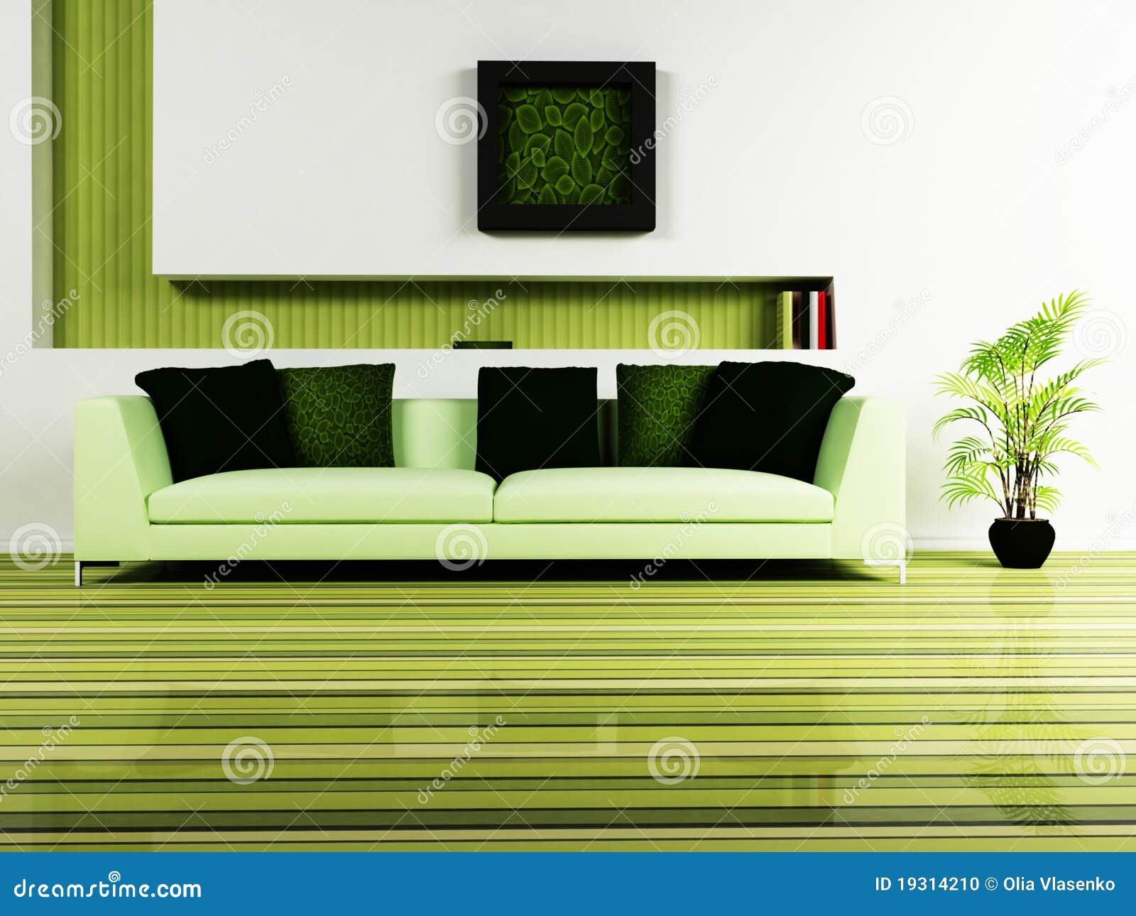 Disegno interno moderno del salone illustrazione di stock for Interno moderno