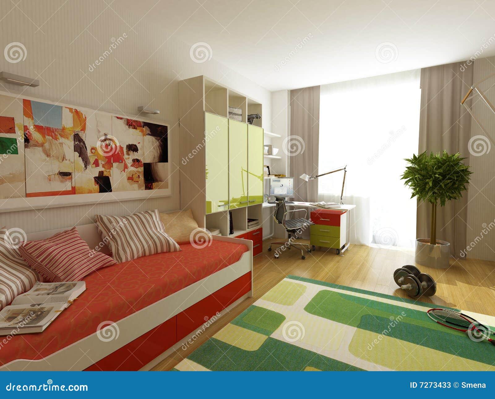 Disegno interno moderno l 39 appartamento 3d del privat for Interno moderno