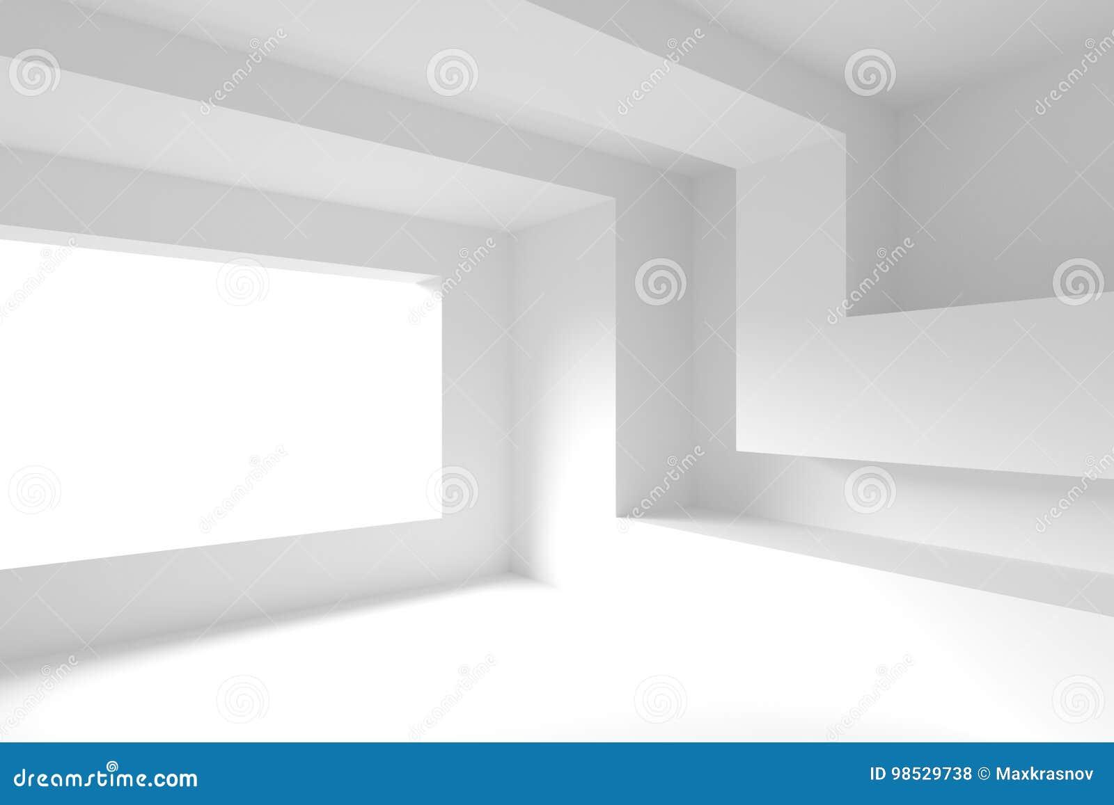 Disegno interno moderno svuoti la stanza con la finestra for Disegno stanza